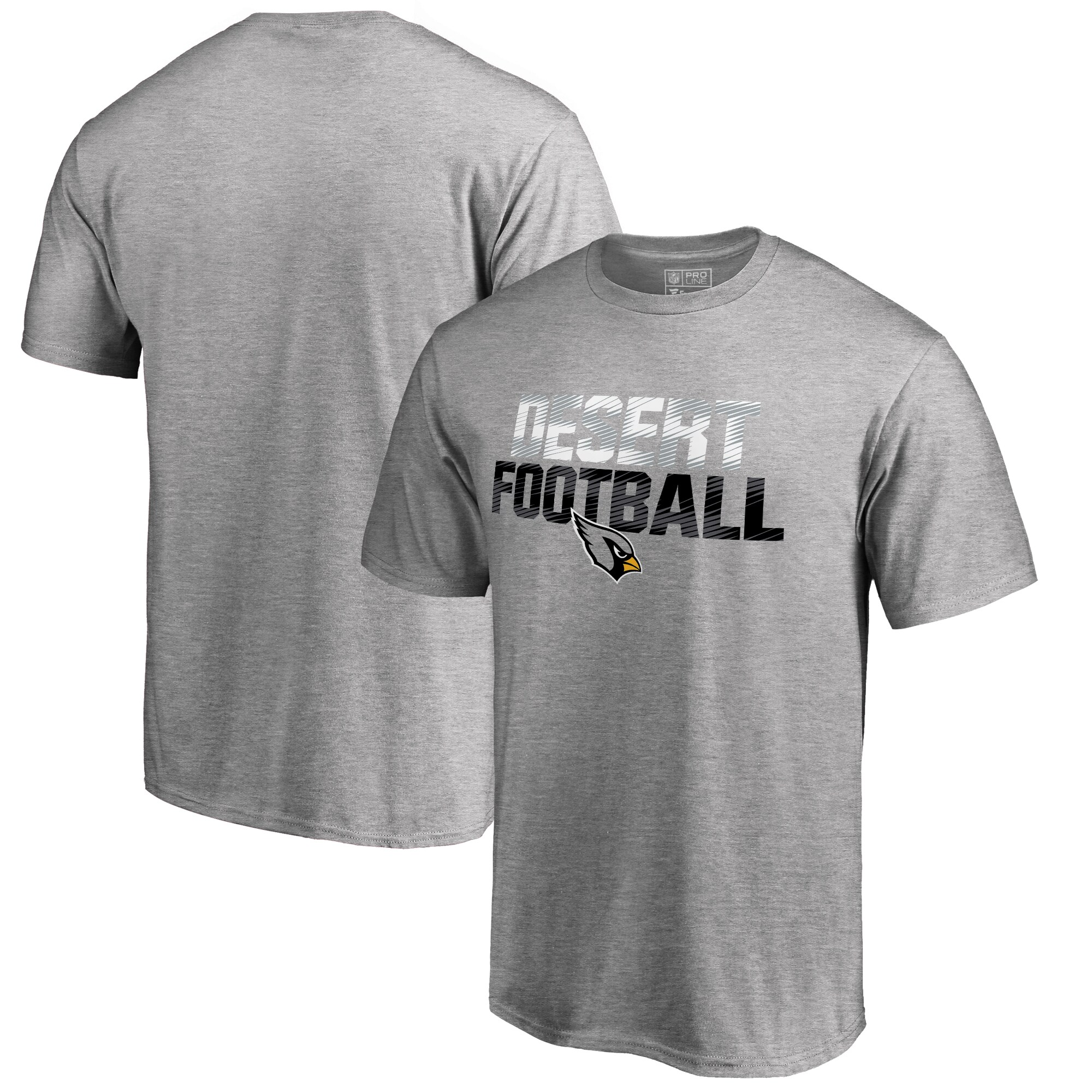 Arizona Cardinals NFL Pro Line Big & Tall Mantra T-Shirt - Ash