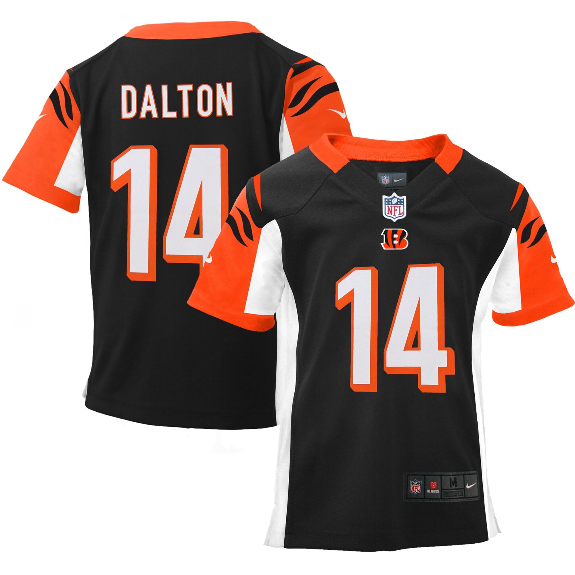 Andy Dalton Cincinnati Bengals Nike Infant Team Color Game Jersey - Black