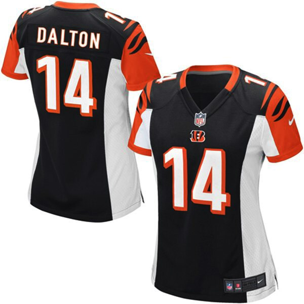 Andy Dalton Cincinnati Bengals Nike Girls Youth Game Jersey - Black
