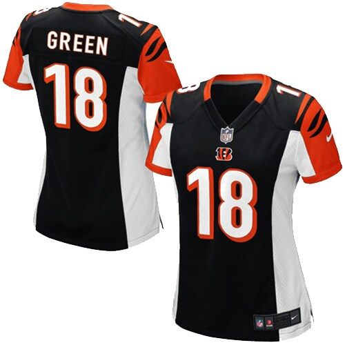 AJ Green Cincinnati Bengals Nike Girls Youth Game Jersey - Black