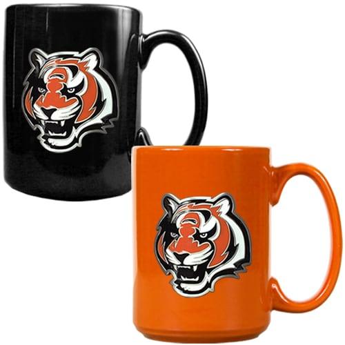 Cincinnati Bengals 15oz. Coffee Mug Set