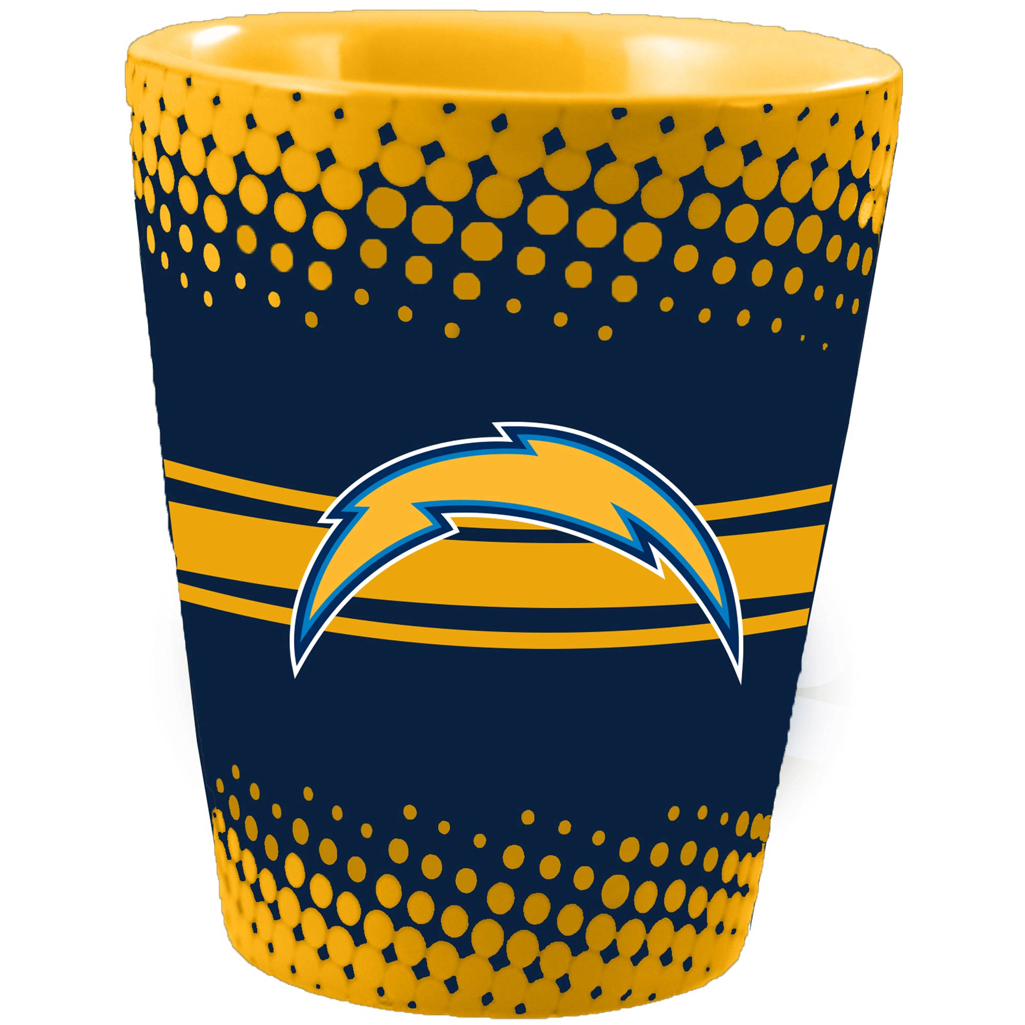 Los Angeles Chargers Full Wrap Collectible Glass