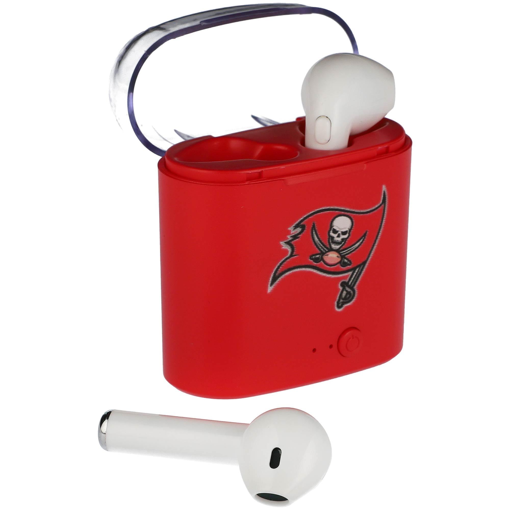 Tampa Bay Buccaneers True Wireless Bluetooth Earbud Headphones