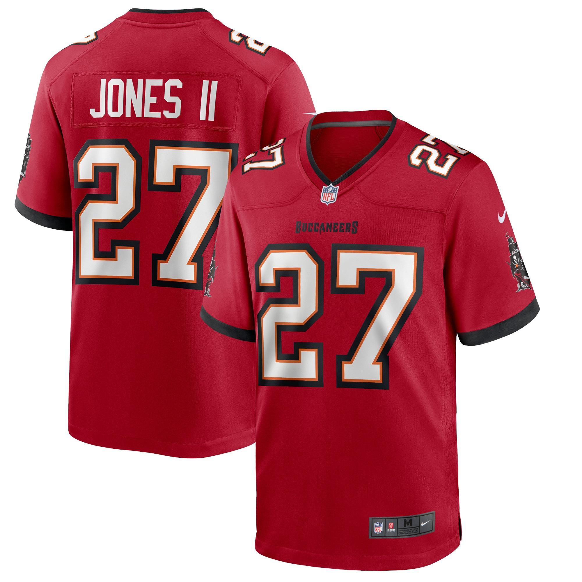 Ronald Jones II Tampa Bay Buccaneers Nike Game Jersey - Red