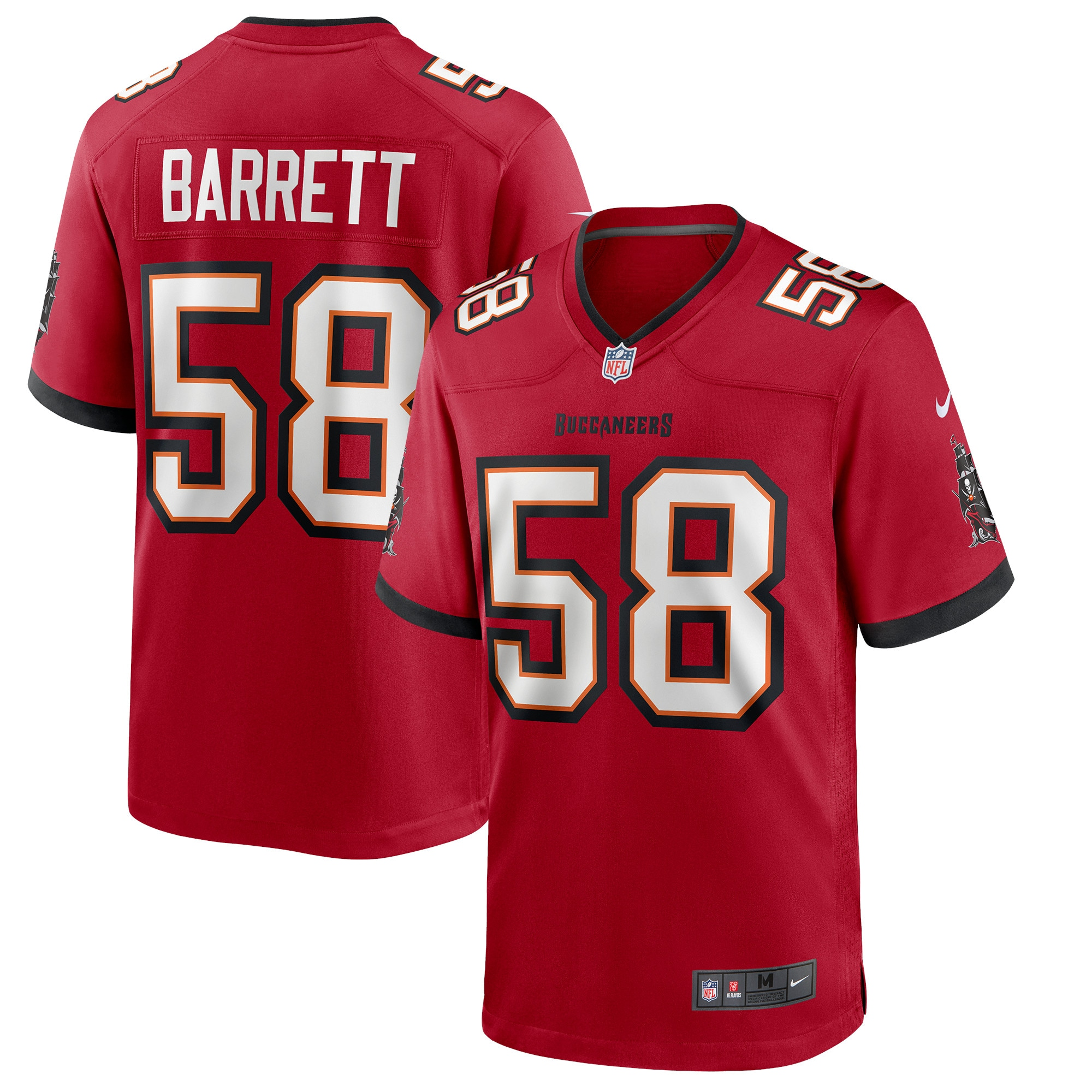 Shaquil Barrett Tampa Bay Buccaneers Nike Game Jersey - Red
