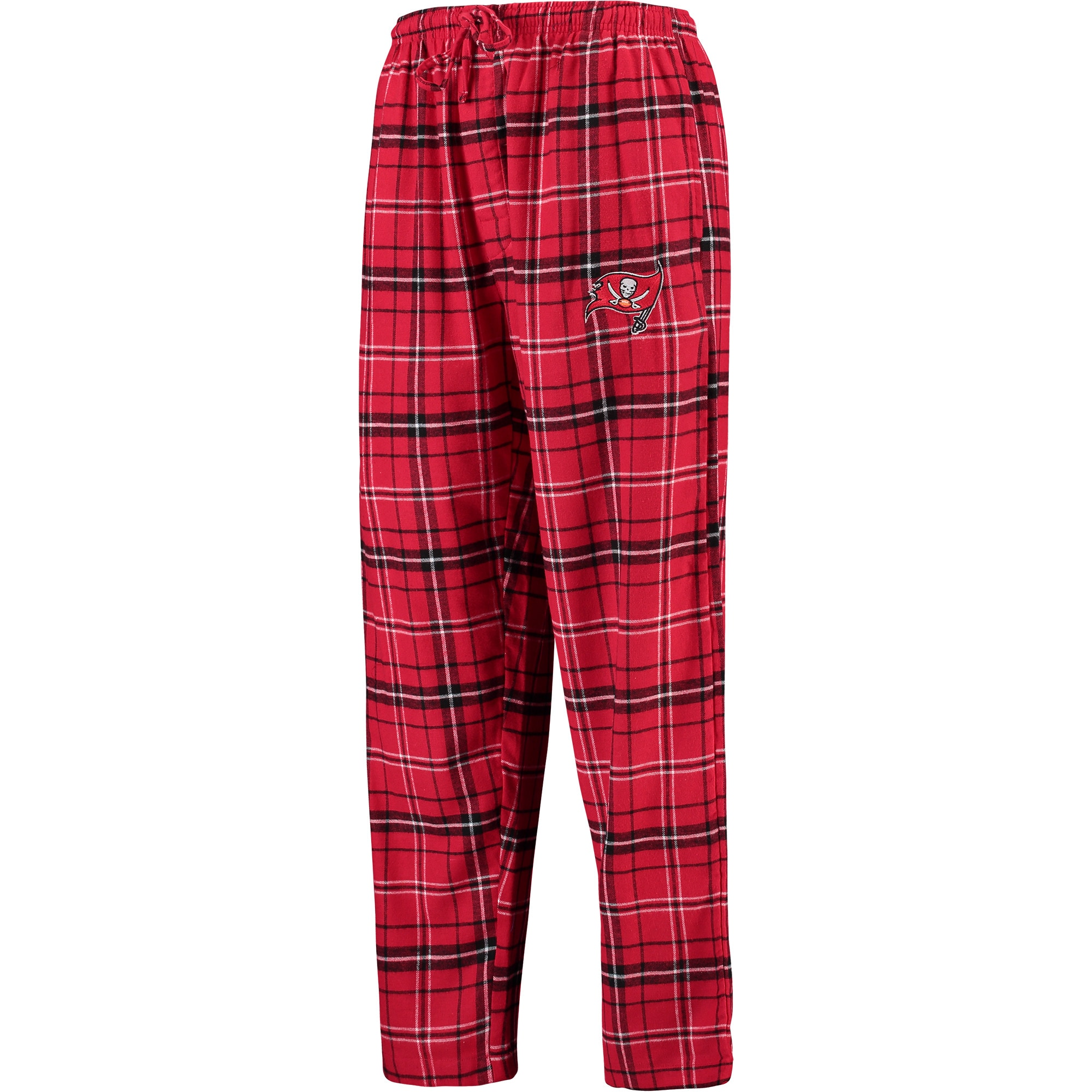 Tampa Bay Buccaneers Concepts Sport Men's Ultimate Plaid Flannel Pants - Red/Black