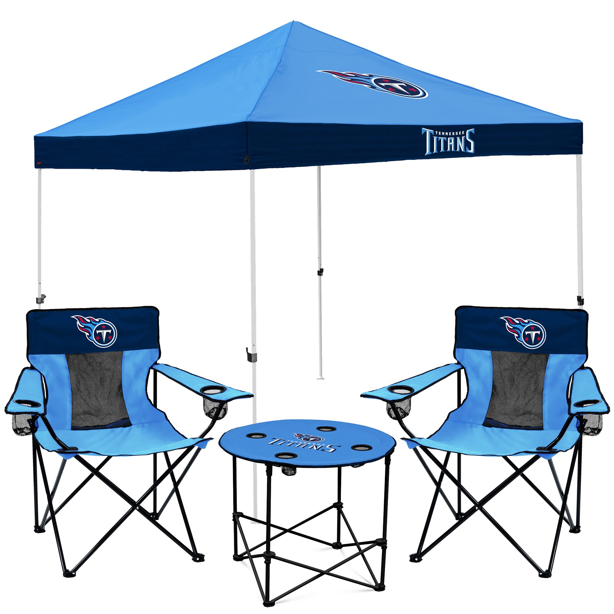 Tennessee Titans Tailgate Canopy Tent, Table, & Chairs Set