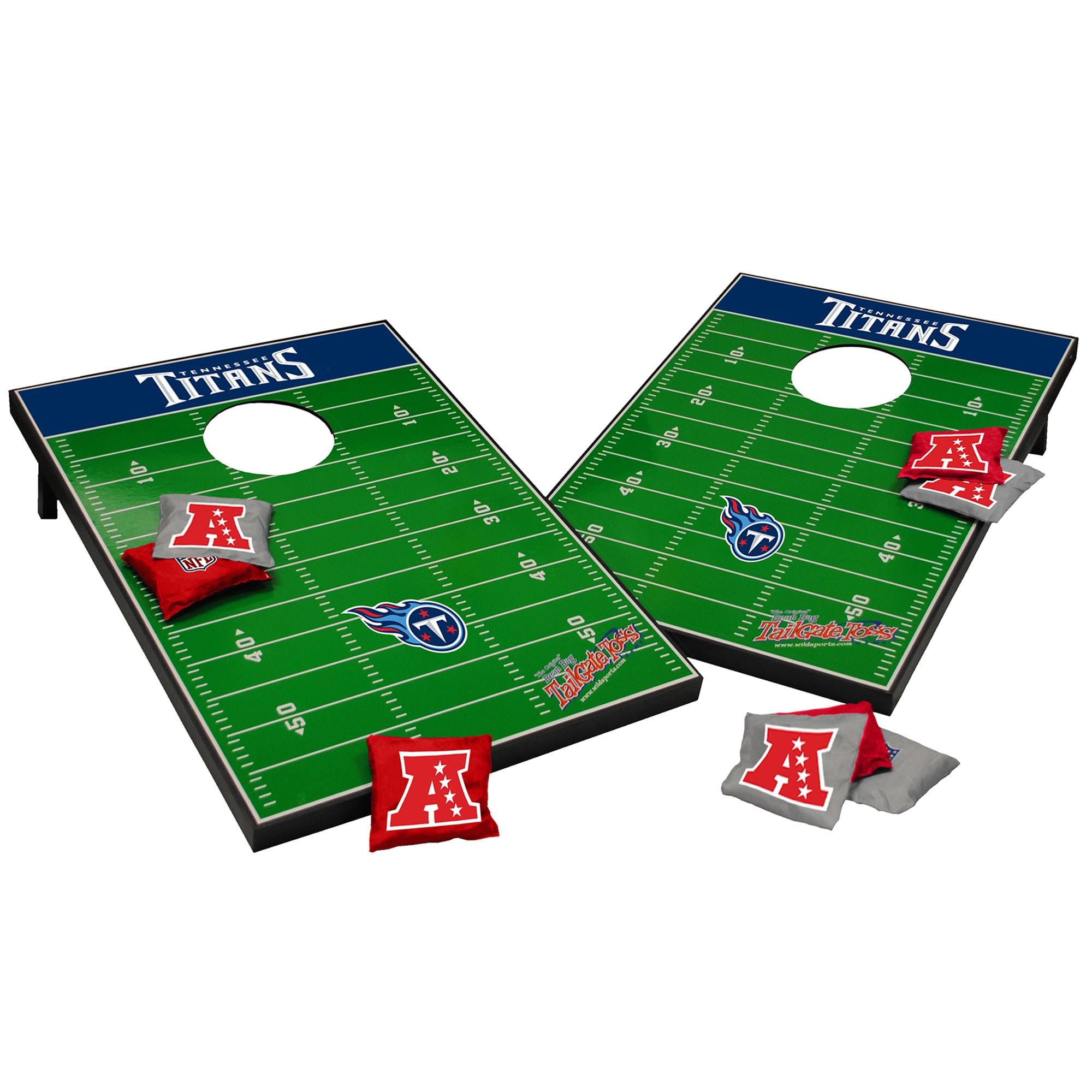 Tennessee Titans 2' x 3' Cornhole Board Tailgate Toss Set