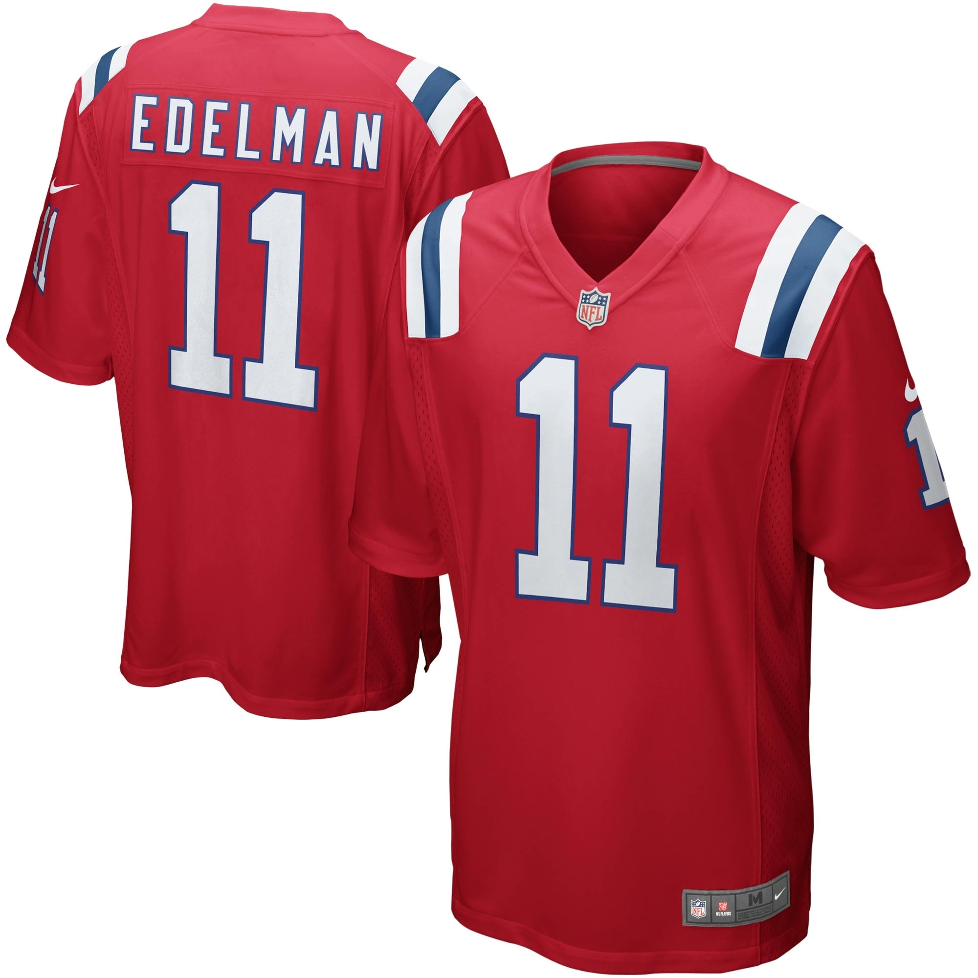 Julian Edelman New England Patriots Nike Youth Alternate Game Jersey - Red