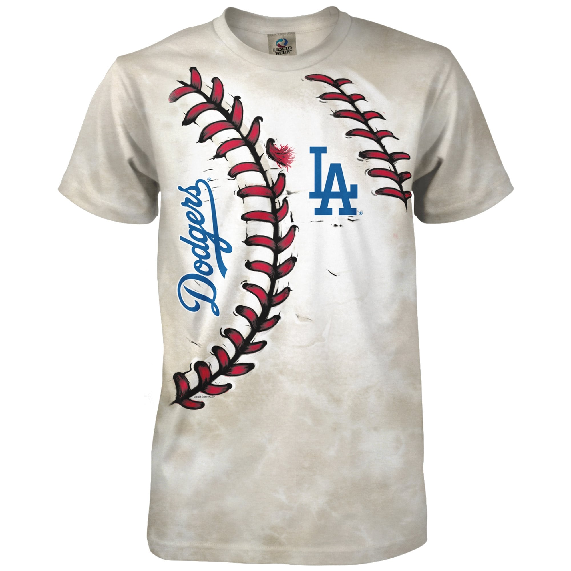 Los Angeles Dodgers Youth Hardball T-Shirt - Cream