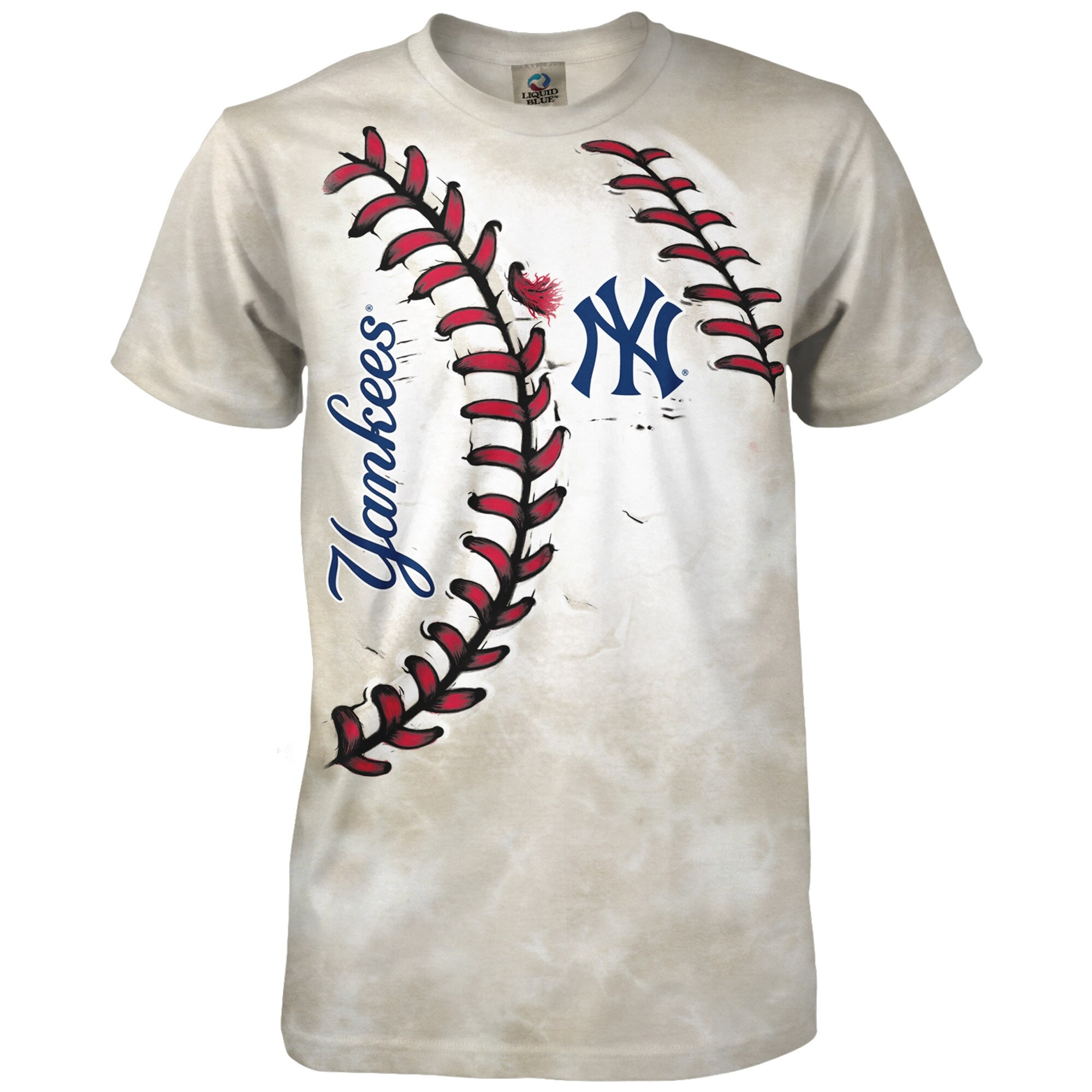 New York Yankees Youth Hardball T-Shirt - Cream