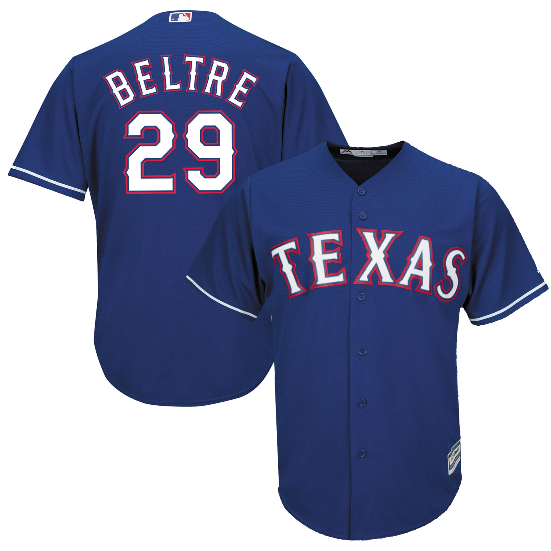 Adrian Beltre Texas Rangers Majestic Cool Base Player Jersey - Royal