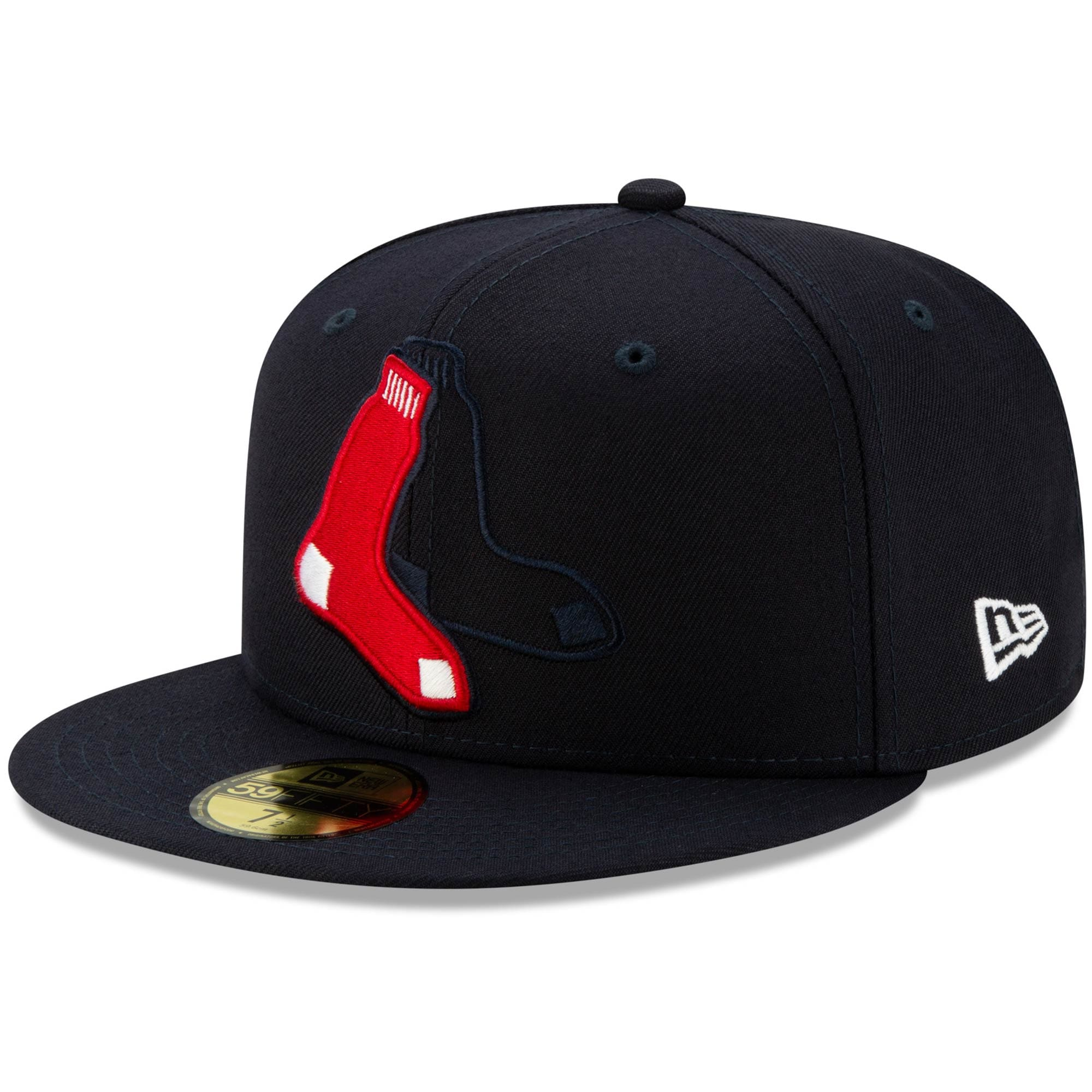 Boston Red Sox New Era Logo Elements 59FIFTY Fitted Hat - Navy