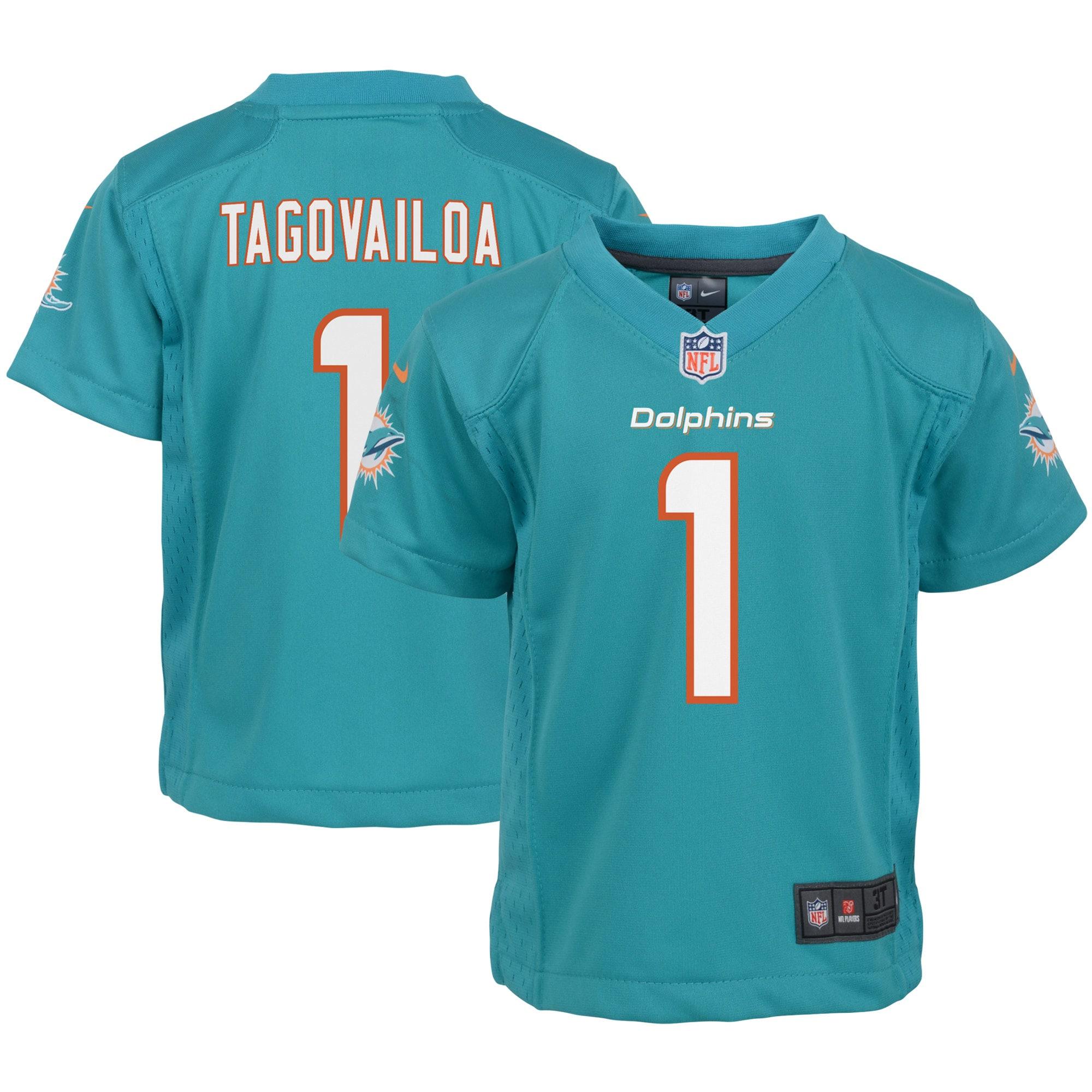 Tua Tagovailoa Miami Dolphins Nike Infant Game Jersey - Aqua