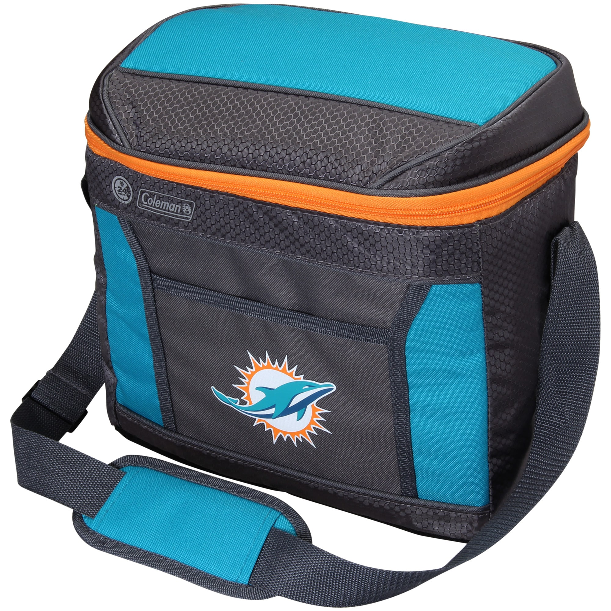 Miami Dolphins Coleman 16-Can 24-Hour Soft-Sided Cooler