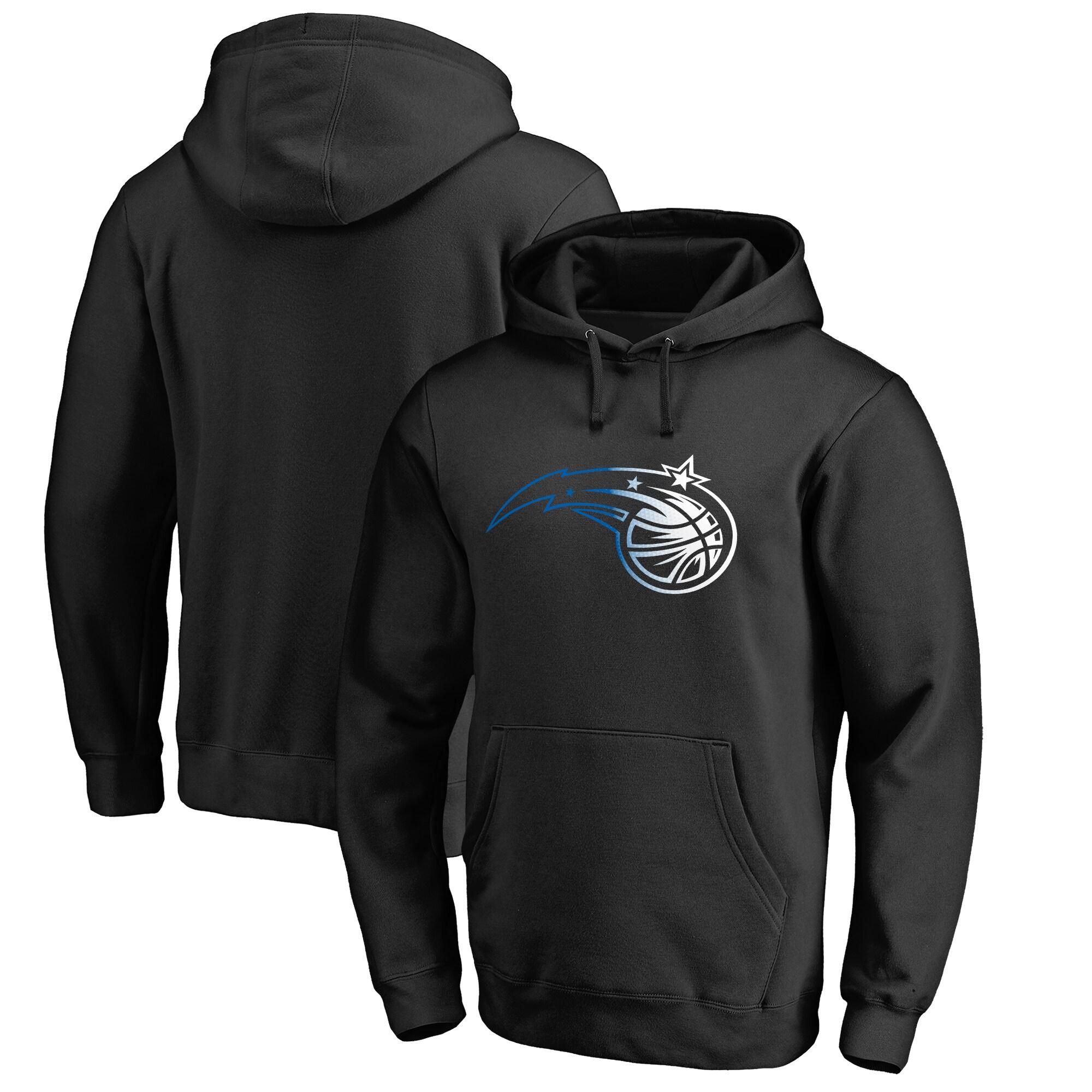 Orlando Magic Fanatics Branded Big & Tall Gradient Logo Pullover Hoodie - Black