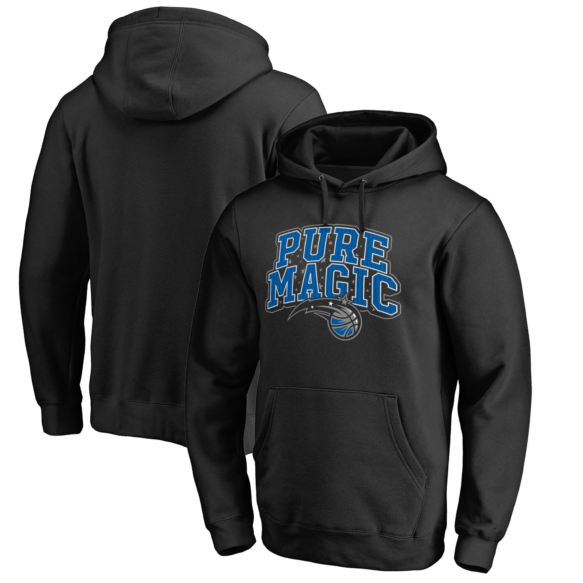 Orlando Magic Fanatics Branded Big & Tall Pure Magic Hometown Collection Pullover Hoodie - Black