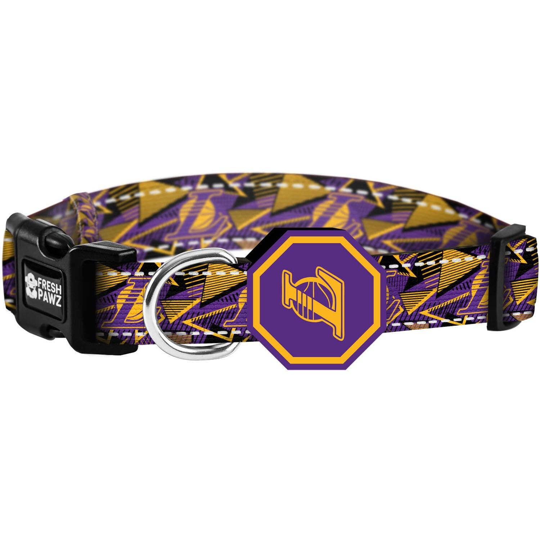Los Angeles Lakers Fresh Pawz Pet Collar