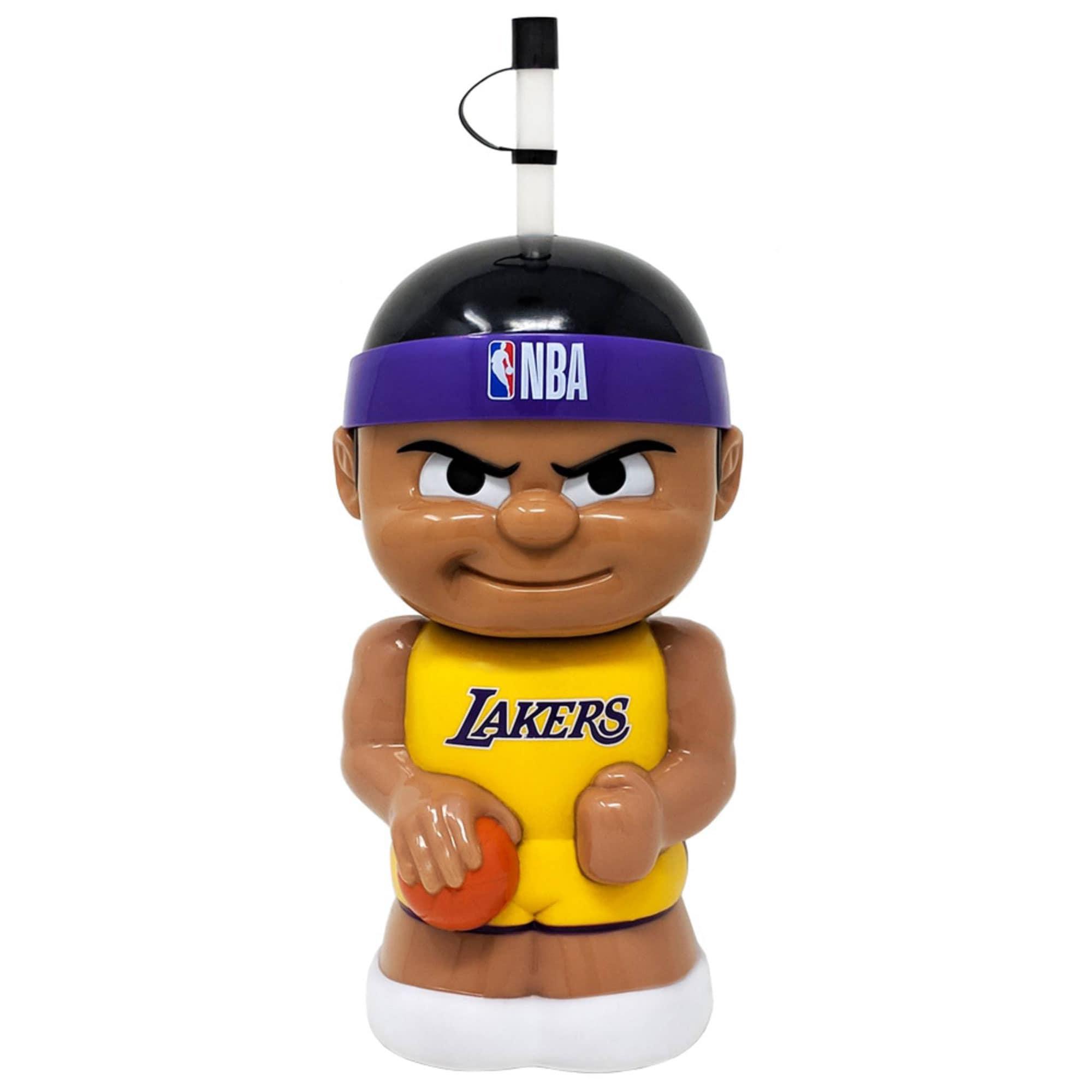 Los Angeles Lakers Big Sip 3D Water Bottle