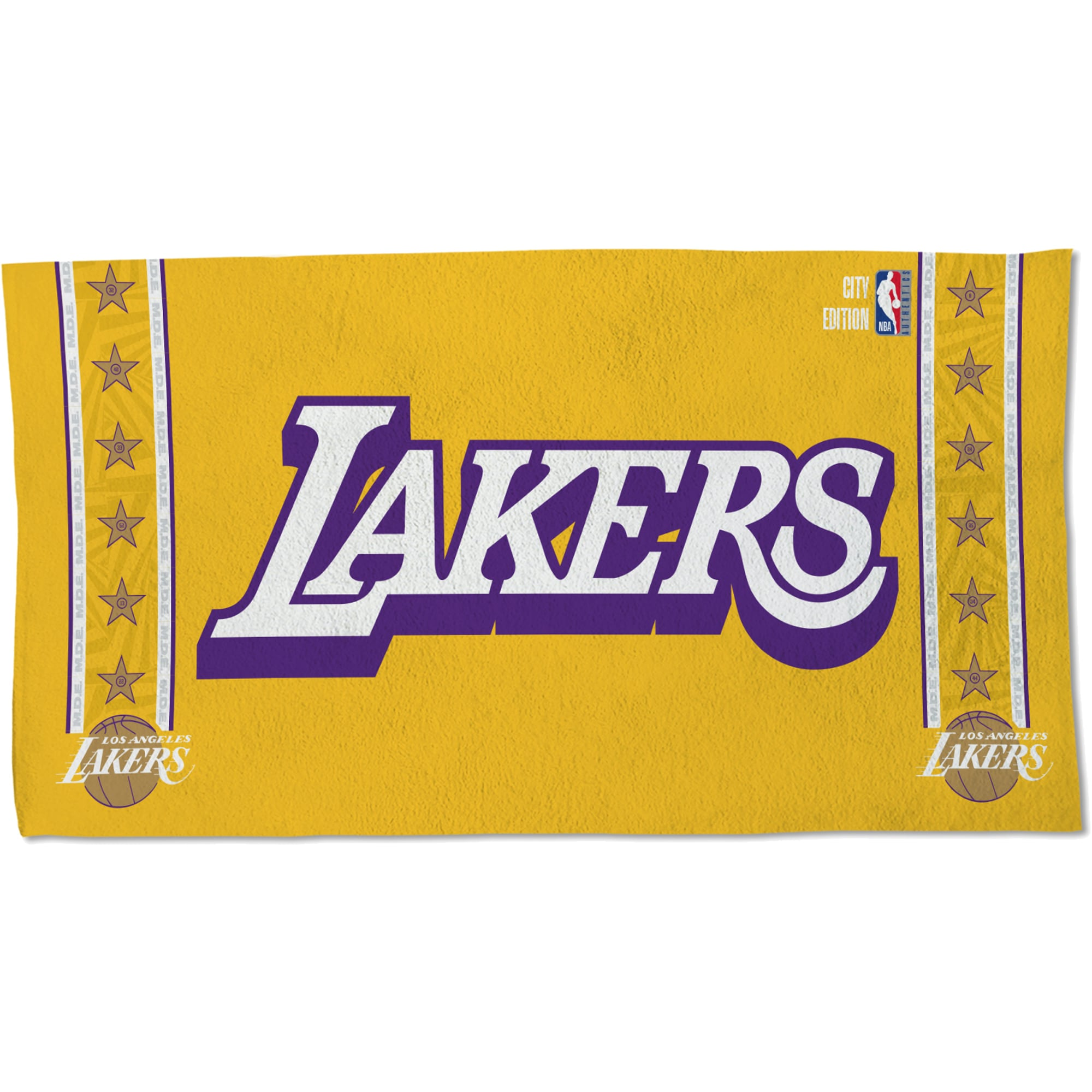 Los Angeles Lakers WinCraft 2019/20 City Edition 22'' x 42'' Official Locker Room Towel