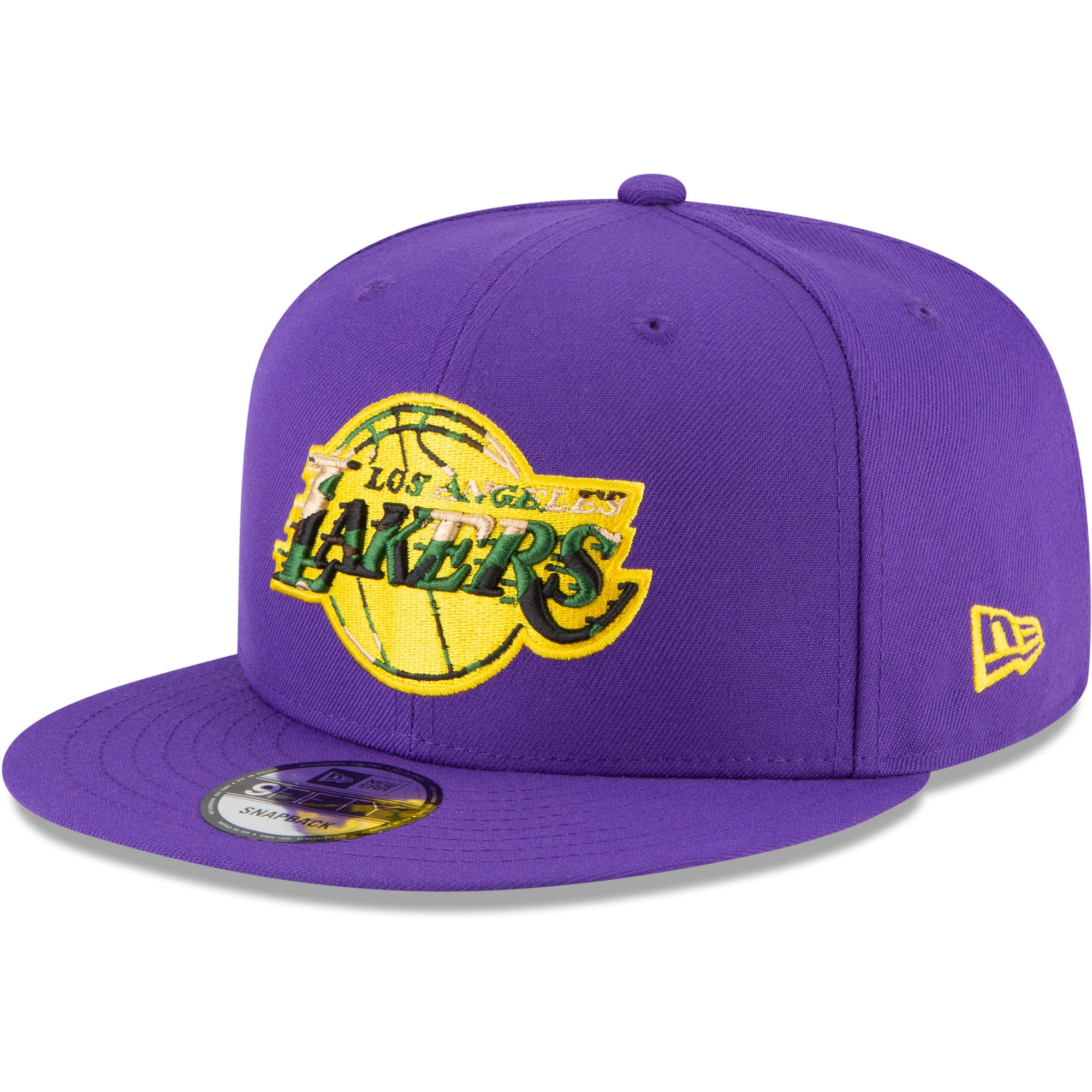 Los Angeles Lakers New Era Extreme 9FIFTY Snapback Hat - Purple