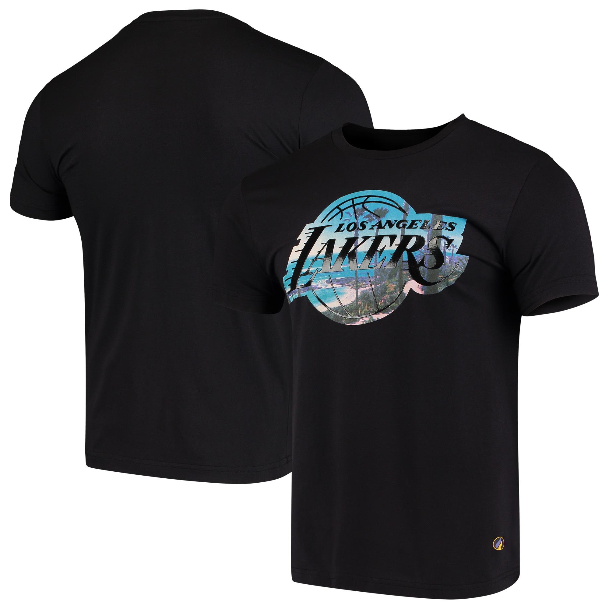 Los Angeles Lakers City Landmark T-Shirt - Black