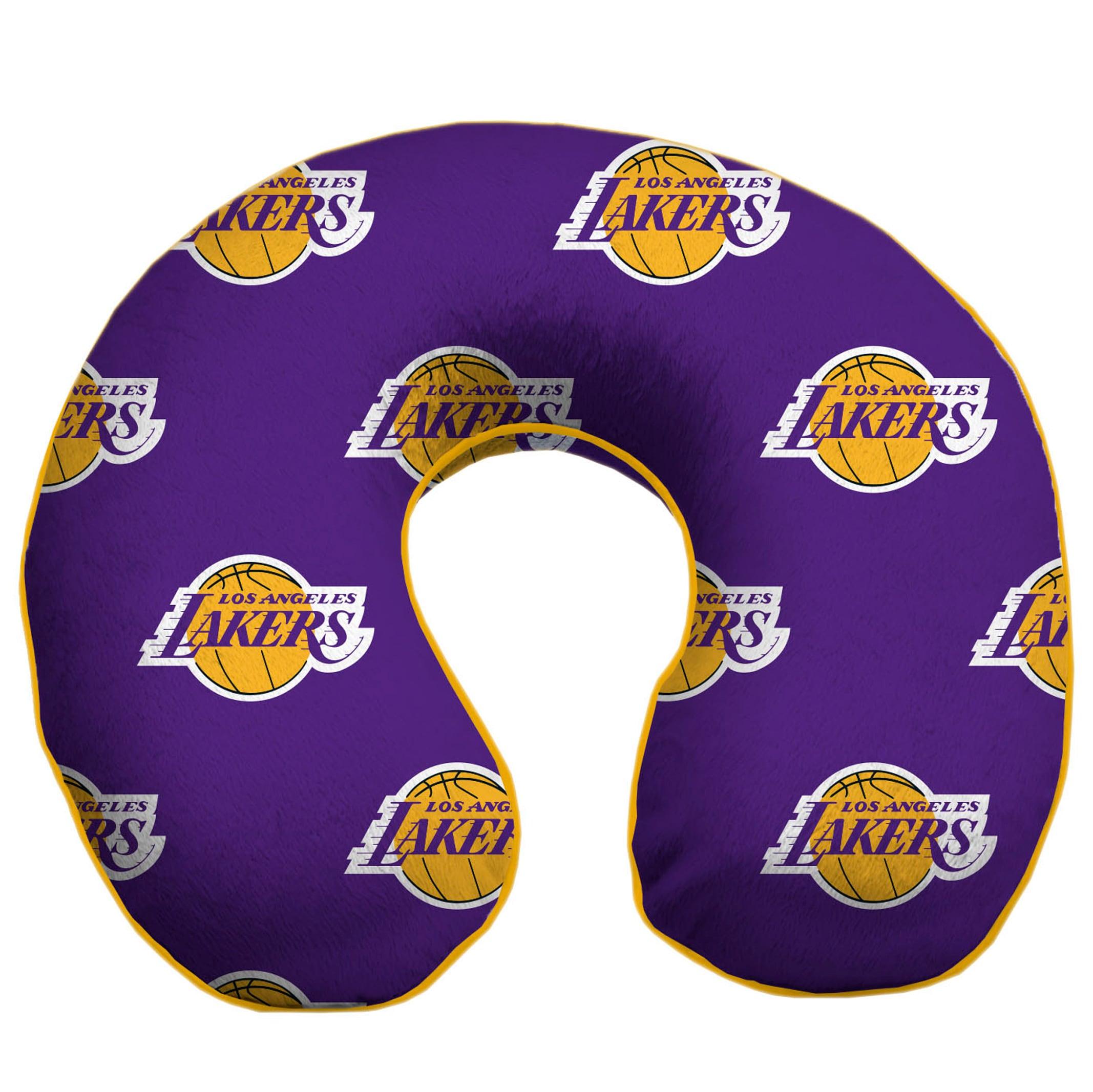 Los Angeles Lakers Travel Memory Foam Pillow