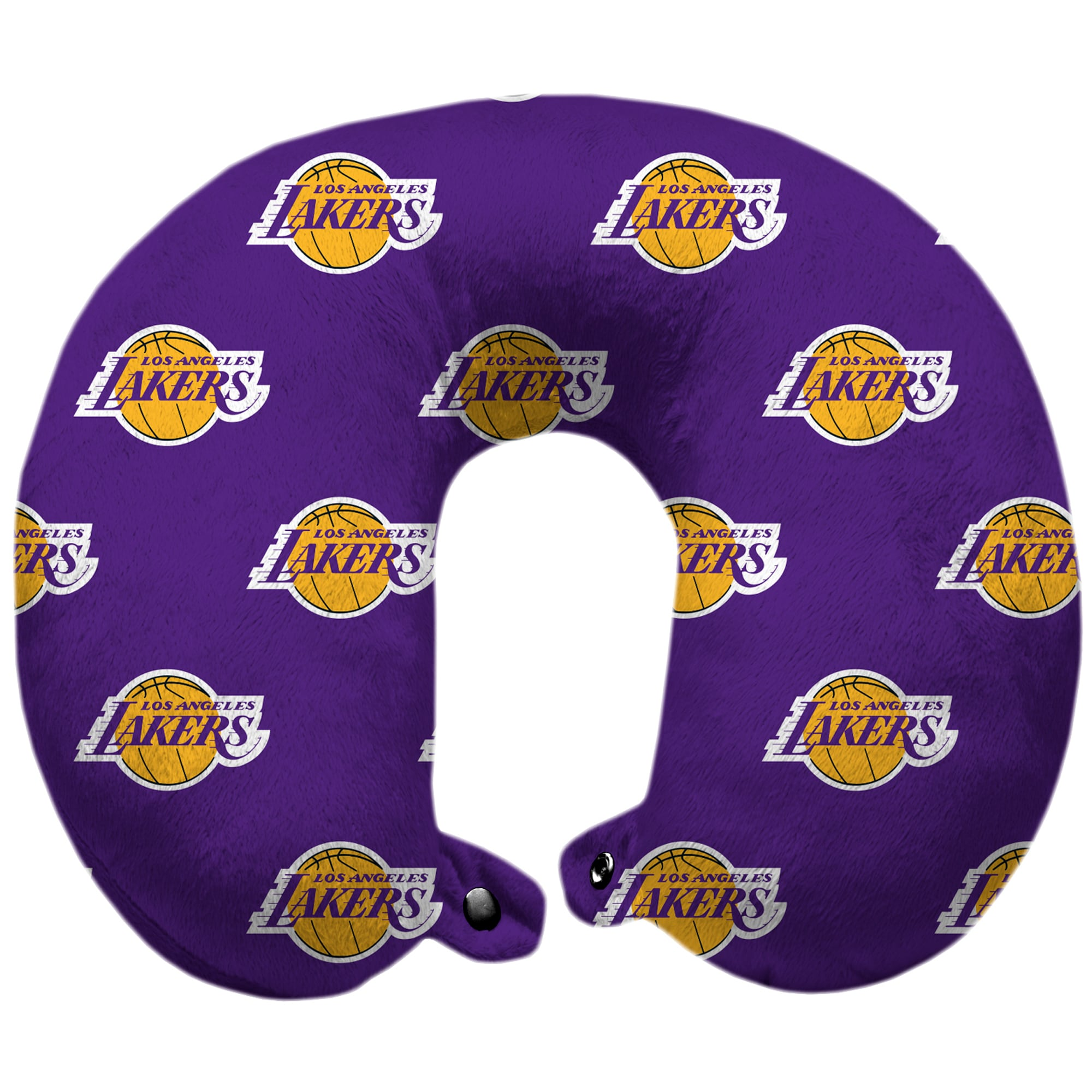 Los Angeles Lakers Polyester-Fill Travel Pillow