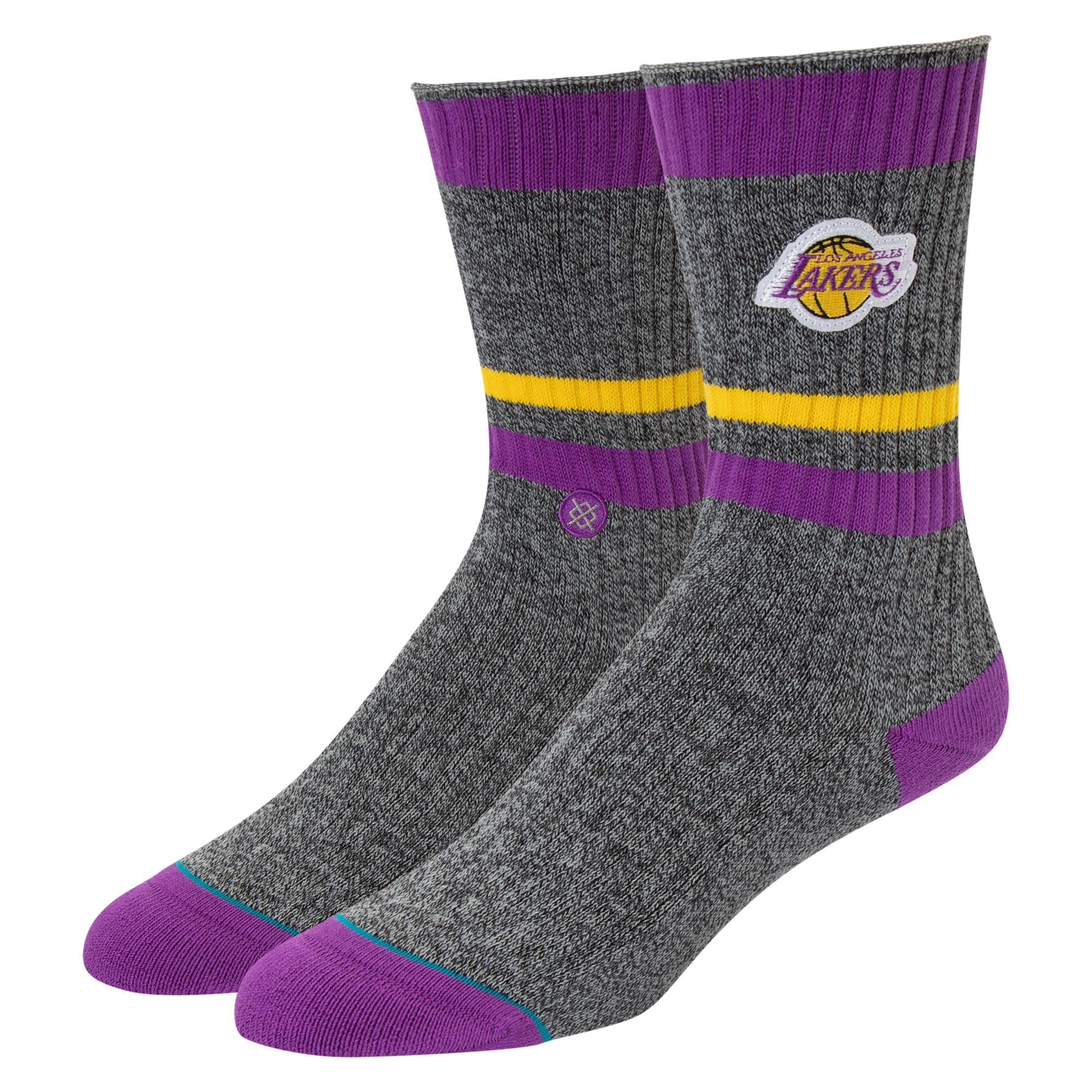 Los Angeles Lakers Stance Women's Boot Crew Socks