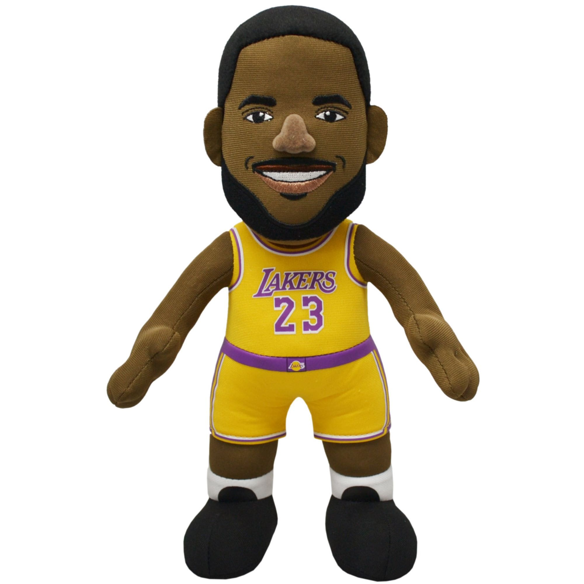 LeBron James Los Angeles Lakers 10'' Plush Player Figure