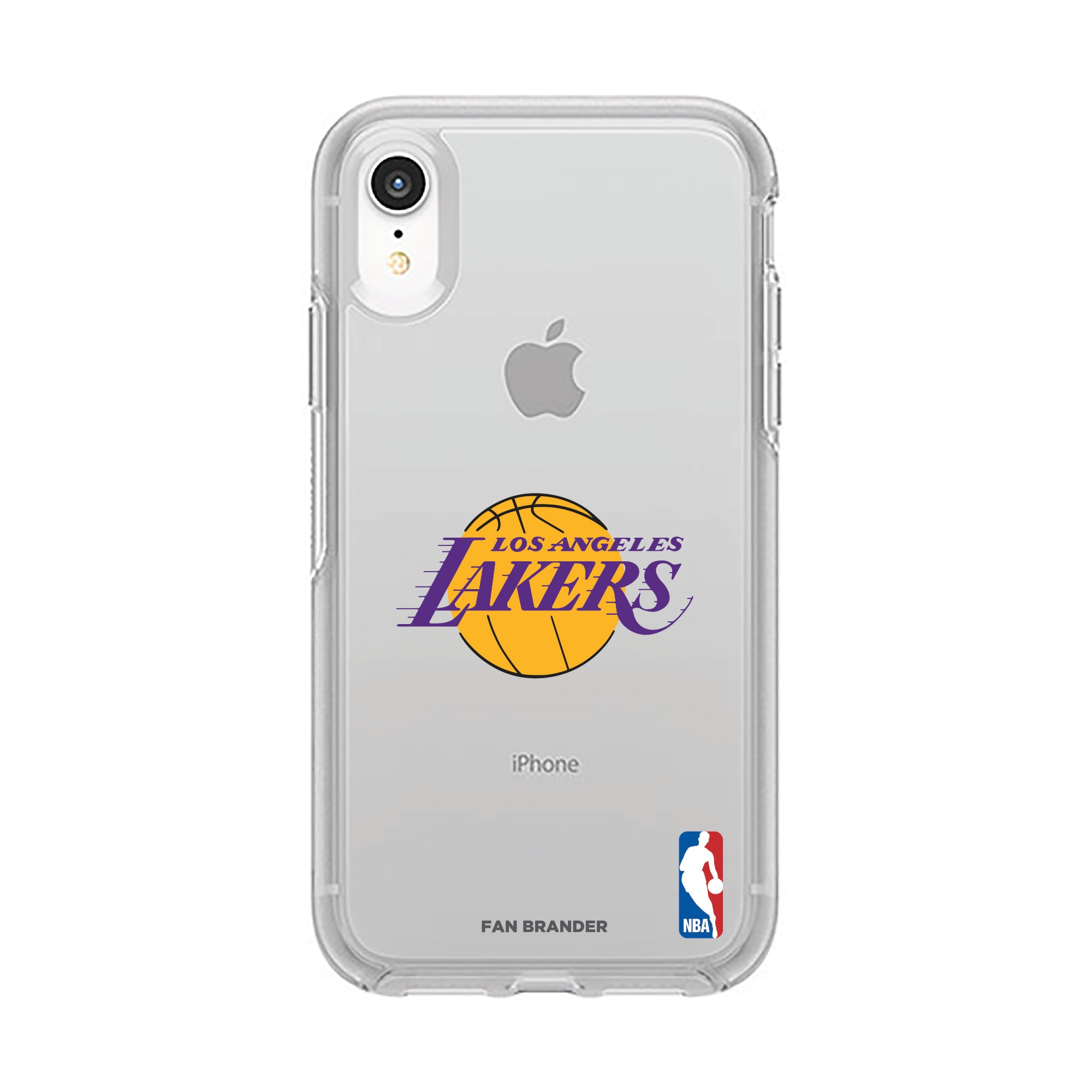 Los Angeles Lakers OtterBox Clear Primary Logo iPhone Case
