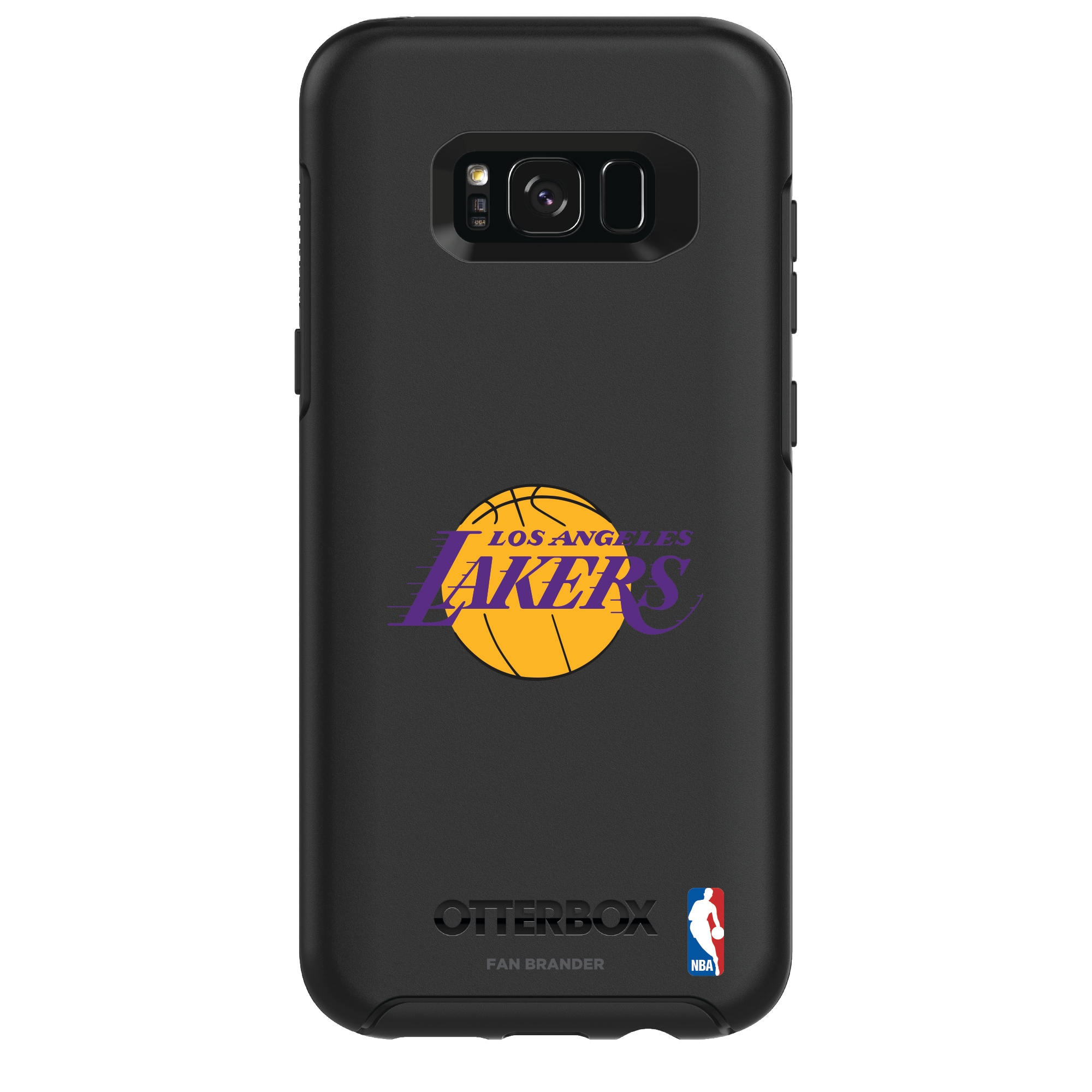 Los Angeles Lakers OtterBox Galaxy Primary Logo Symmetry Case