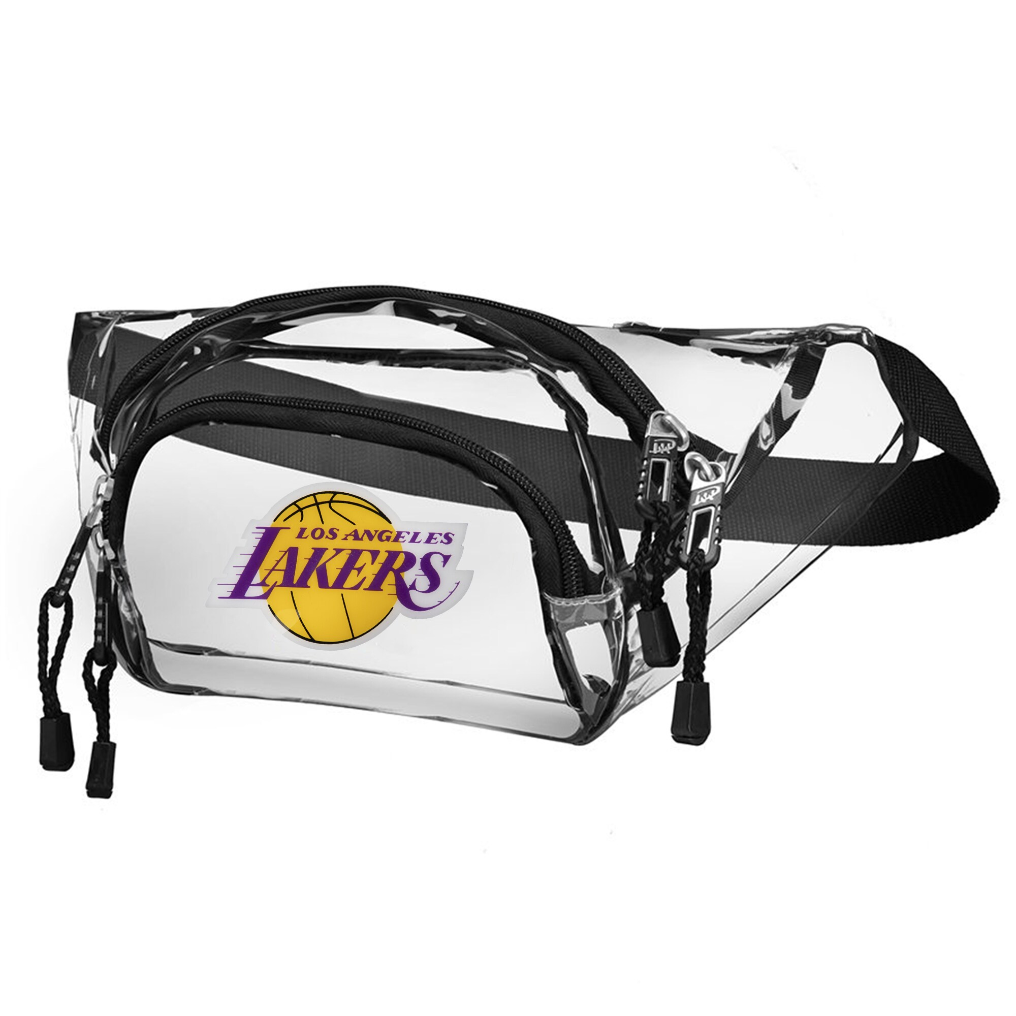 Los Angeles Lakers The Northwest Company Transport Clear Belt Bag