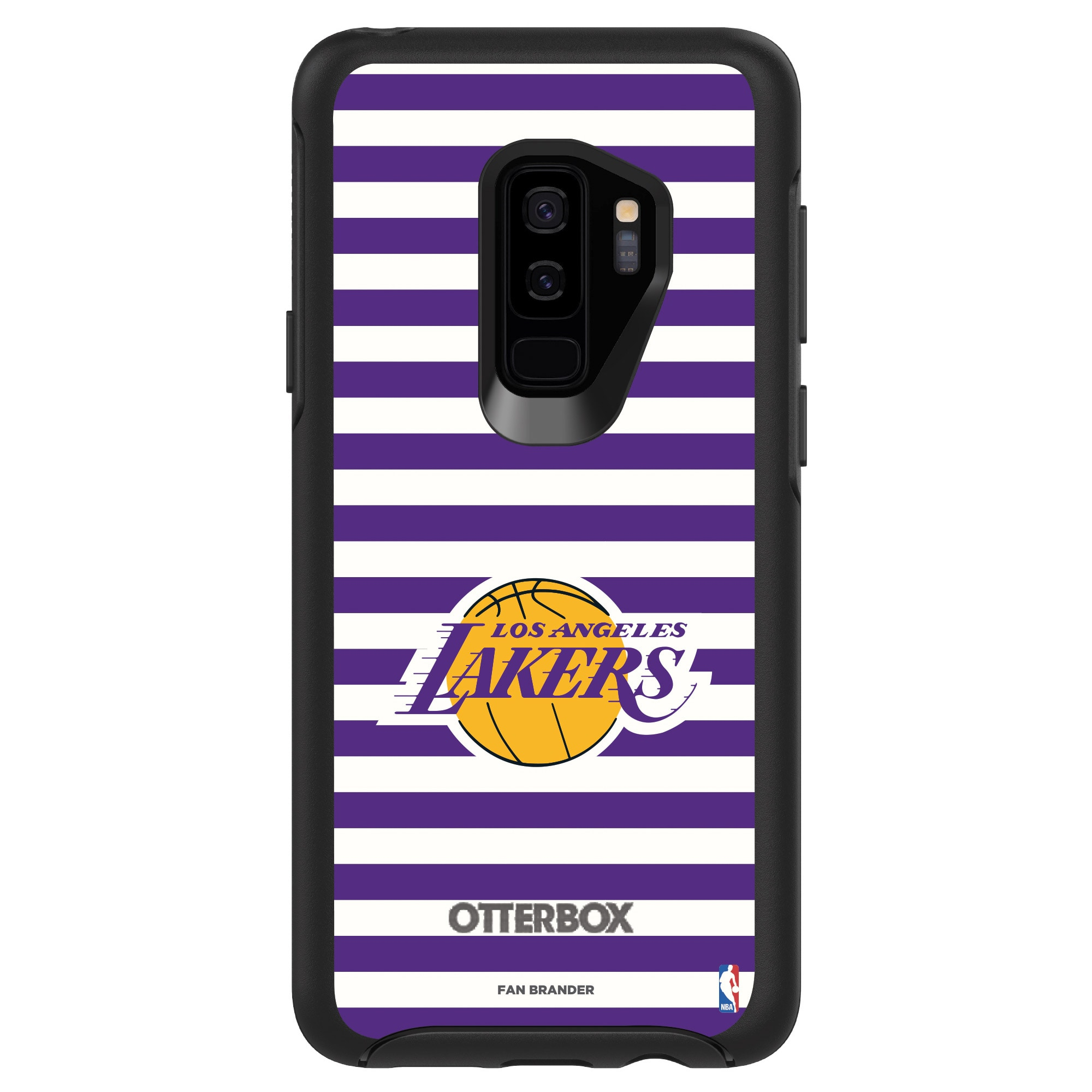 Los Angeles Lakers OtterBox Galaxy Symmetry Striped Design Case