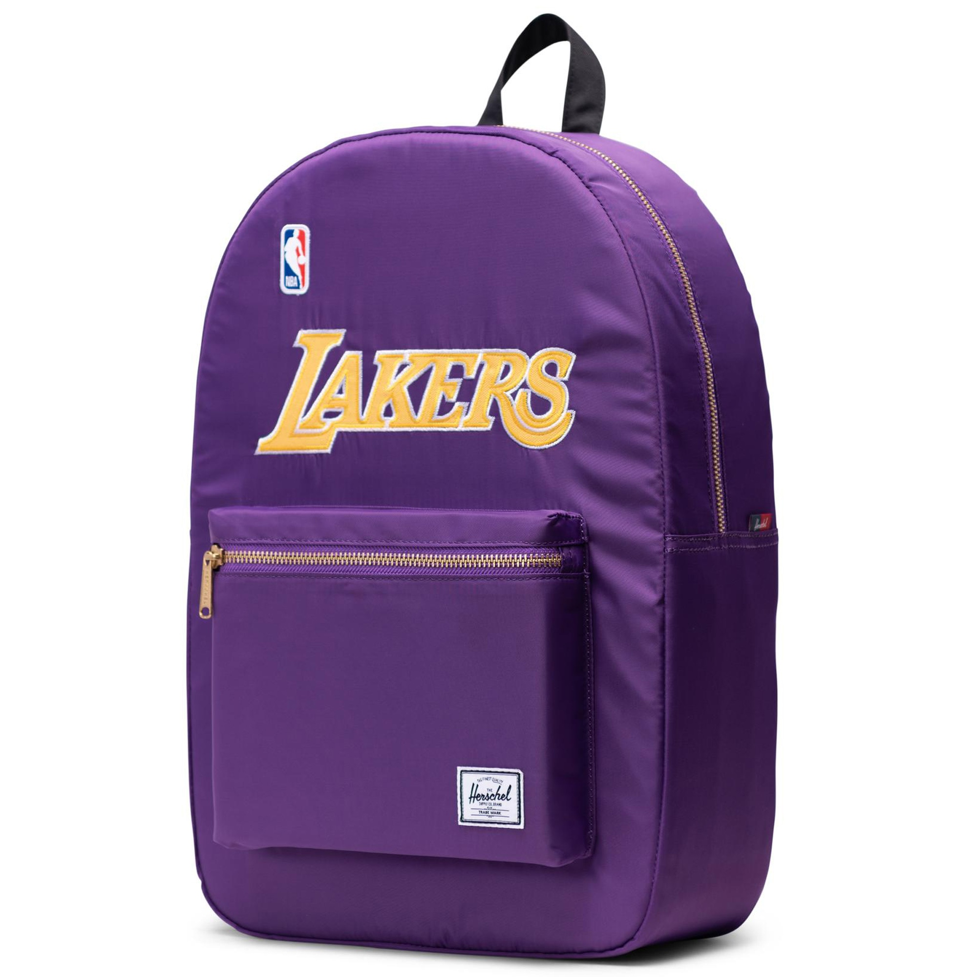 Los Angeles Lakers Herschel Supply Co. Settlement Satin Backpack