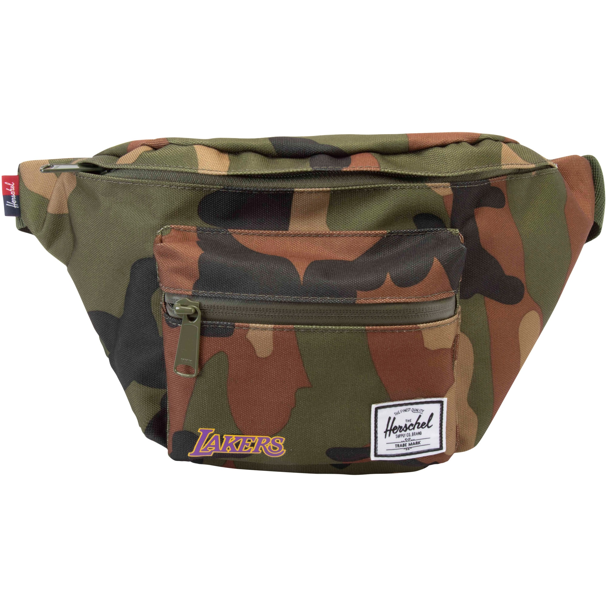 Los Angeles Lakers Herschel Supply Co. Seventeen Hipsack - Camo