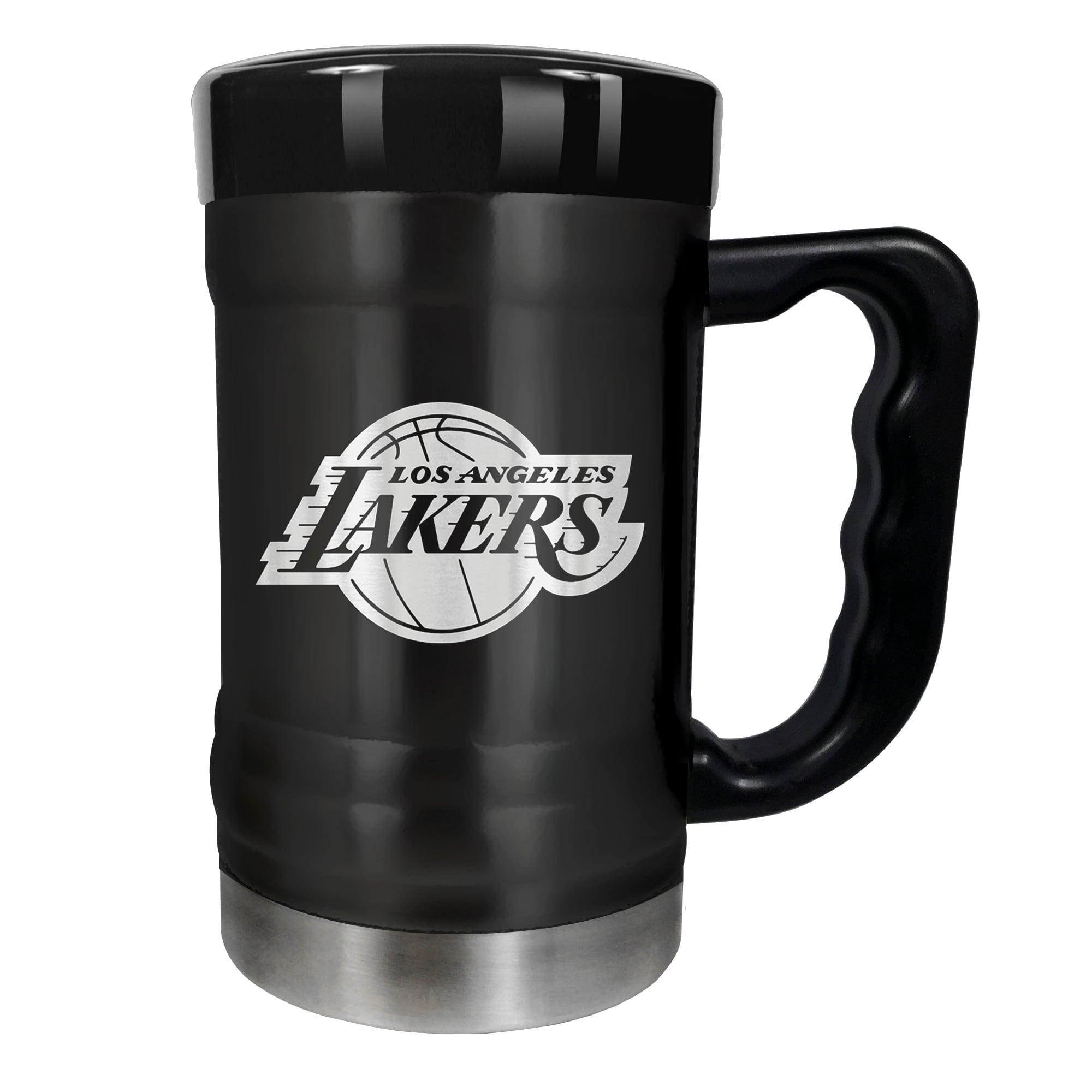 Los Angeles Lakers 15oz. Stealth Coach Coffee Mug - Black