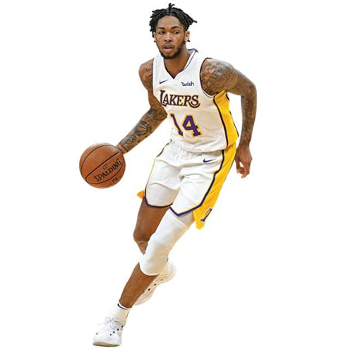 Brandon Ingram Los Angeles Lakers Fathead Life Size Removable Wall Decal