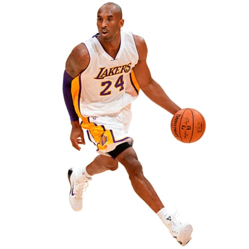 Kobe Bryant Los Angeles Lakers Fathead Life Size Removable Wall Decal