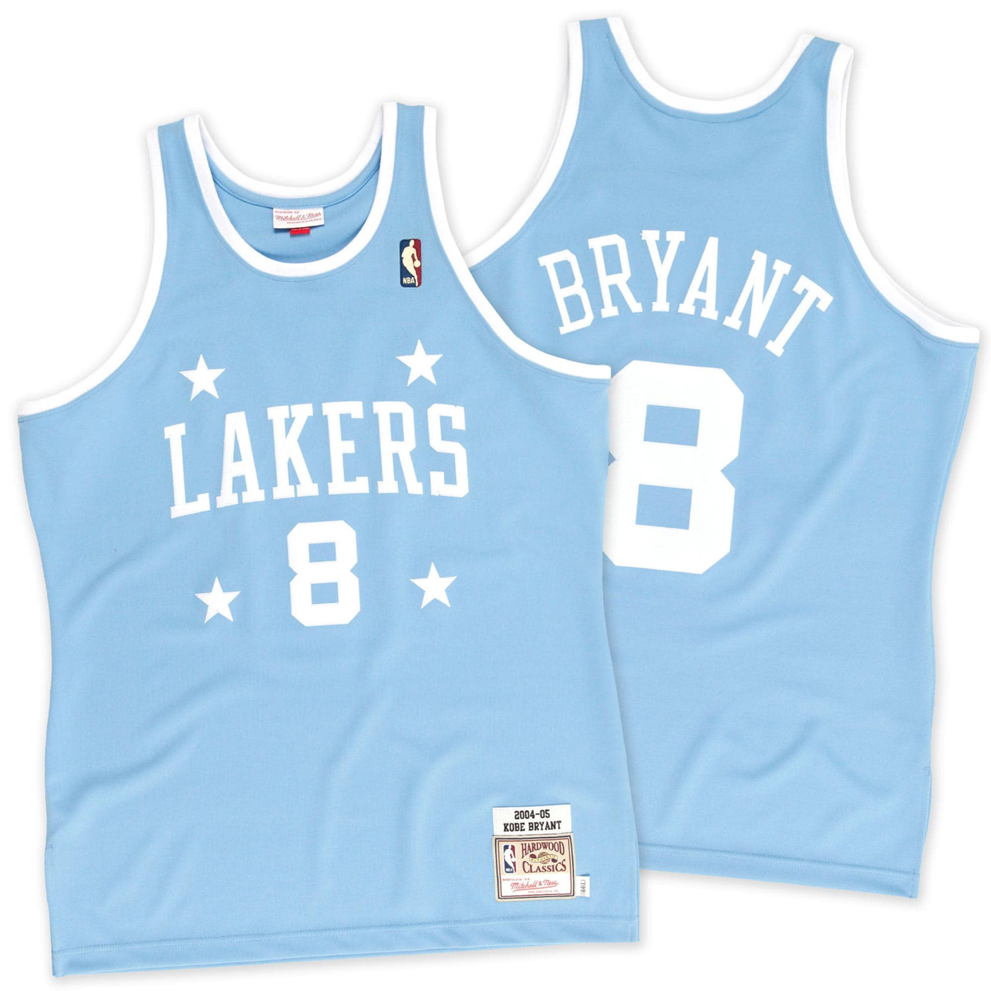 Kobe Bryant Los Angeles Lakers Mitchell & Ness 2004-2005 #8 Authentic Jersey - Light Blue