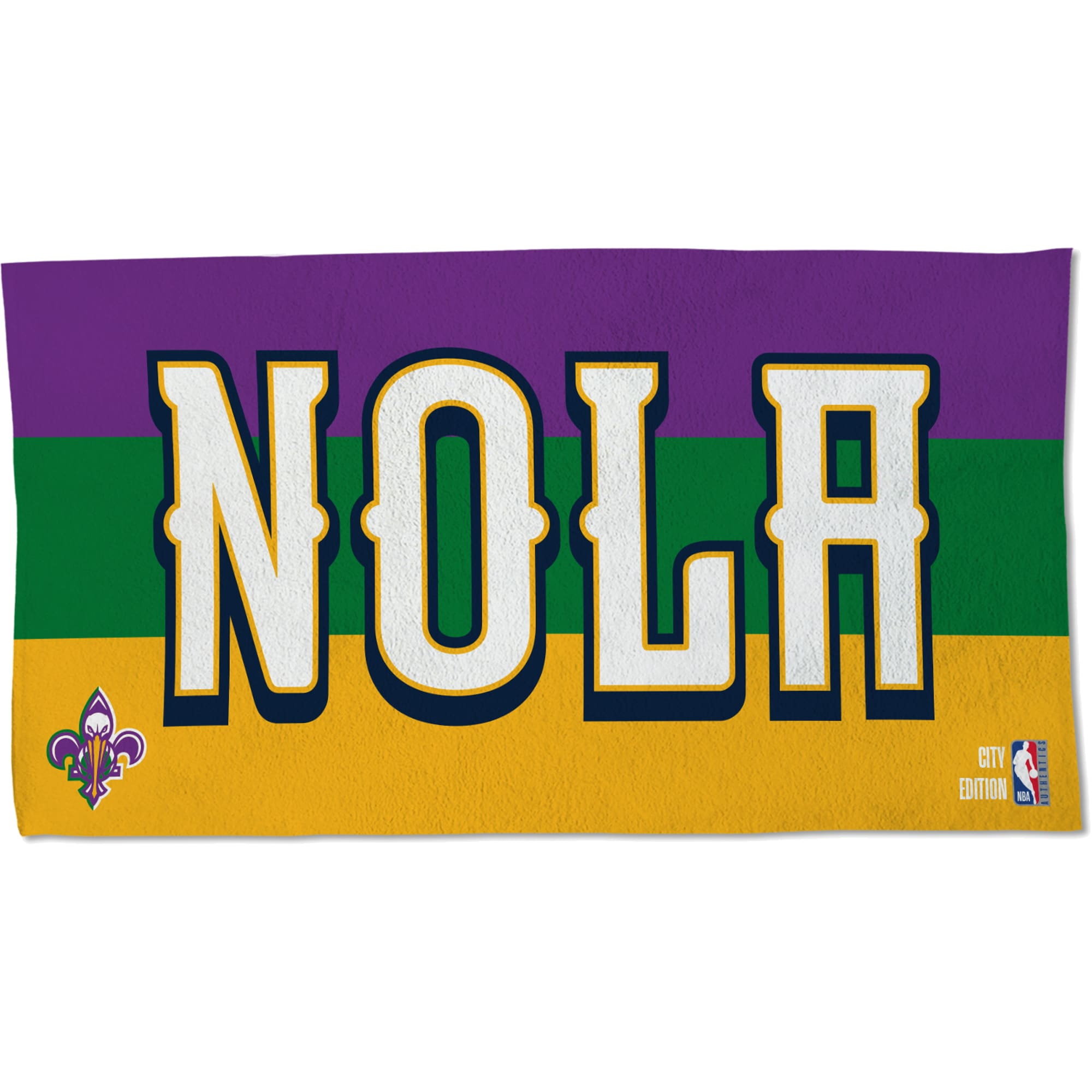 New Orleans Pelicans WinCraft 2019/20 City Edition 22'' x 42'' Official Locker Room Towel