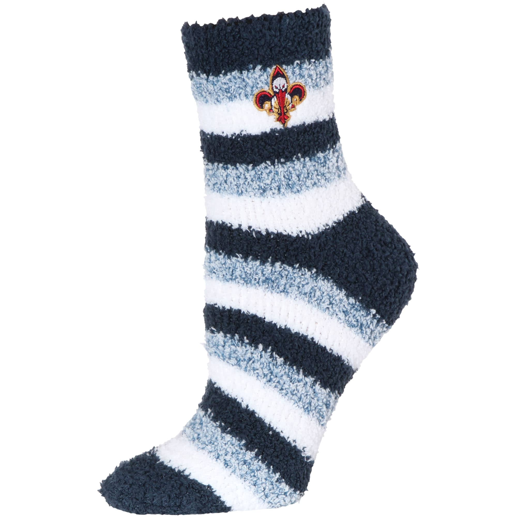 New Orleans Pelicans Women's Fuzzy Steps Quarter-Length Socks