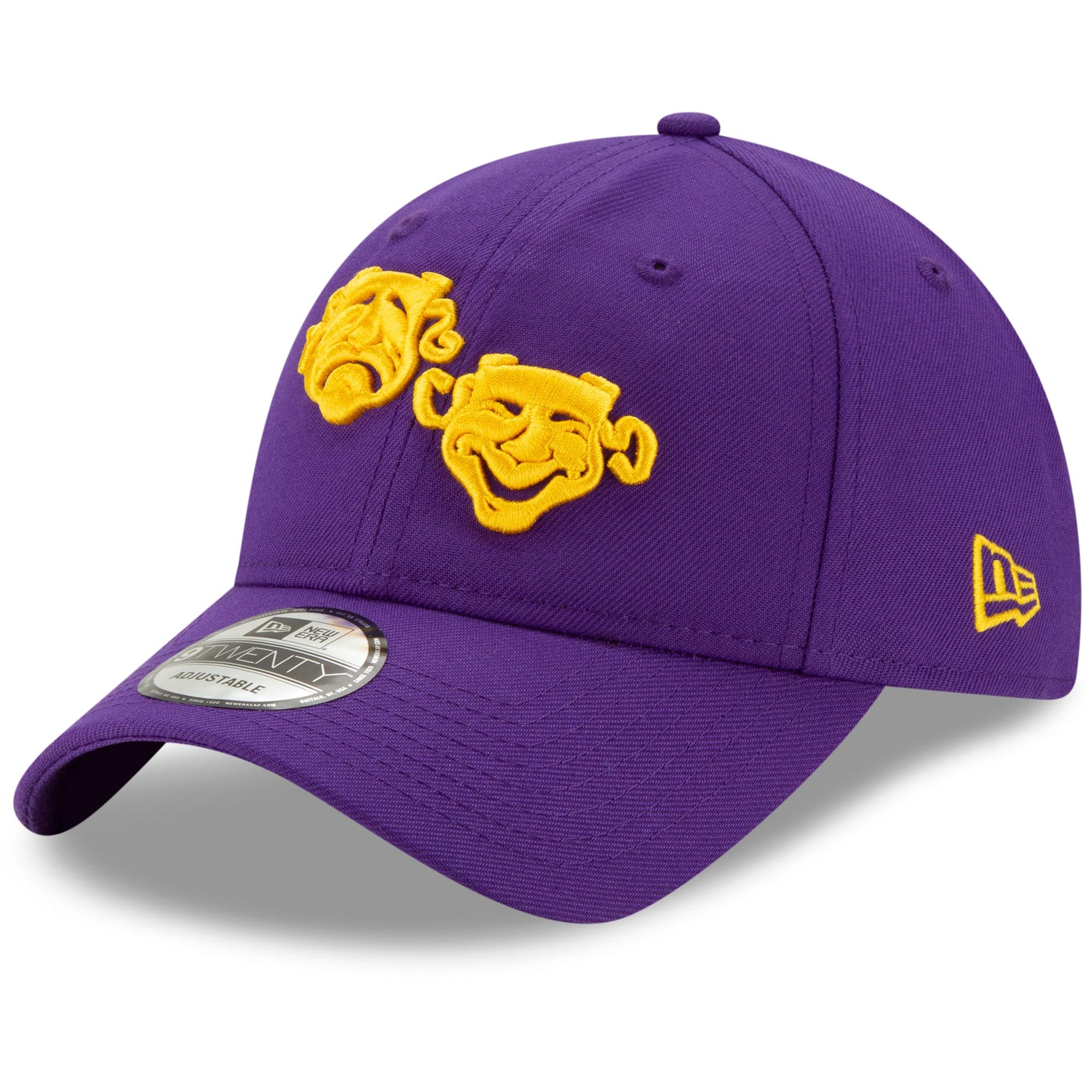 New Orleans Pelicans New Era 2019/20 City Edition 9TWENTY Adjustable Hat - Purple