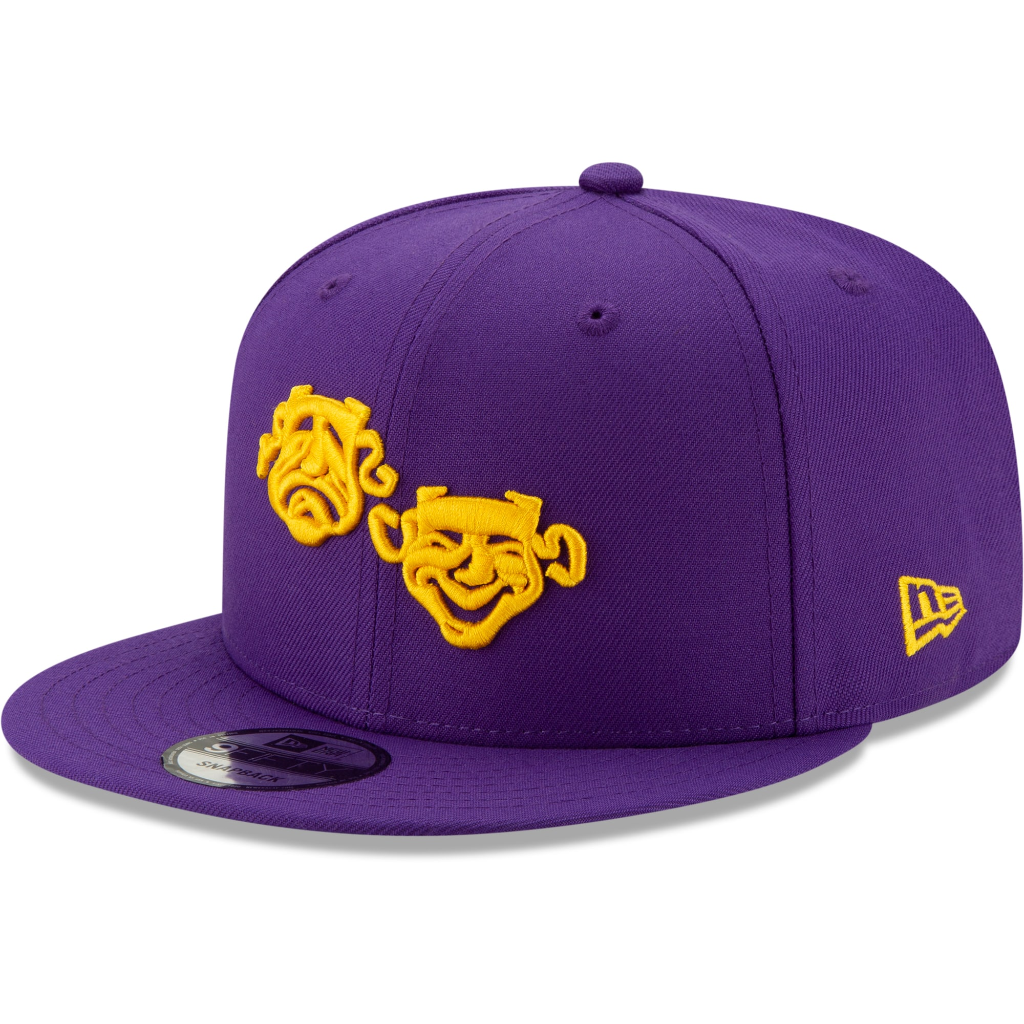 New Orleans Pelicans New Era 2019/20 City Edition 9FIFTY Snapback Adjustable Hat - Purple