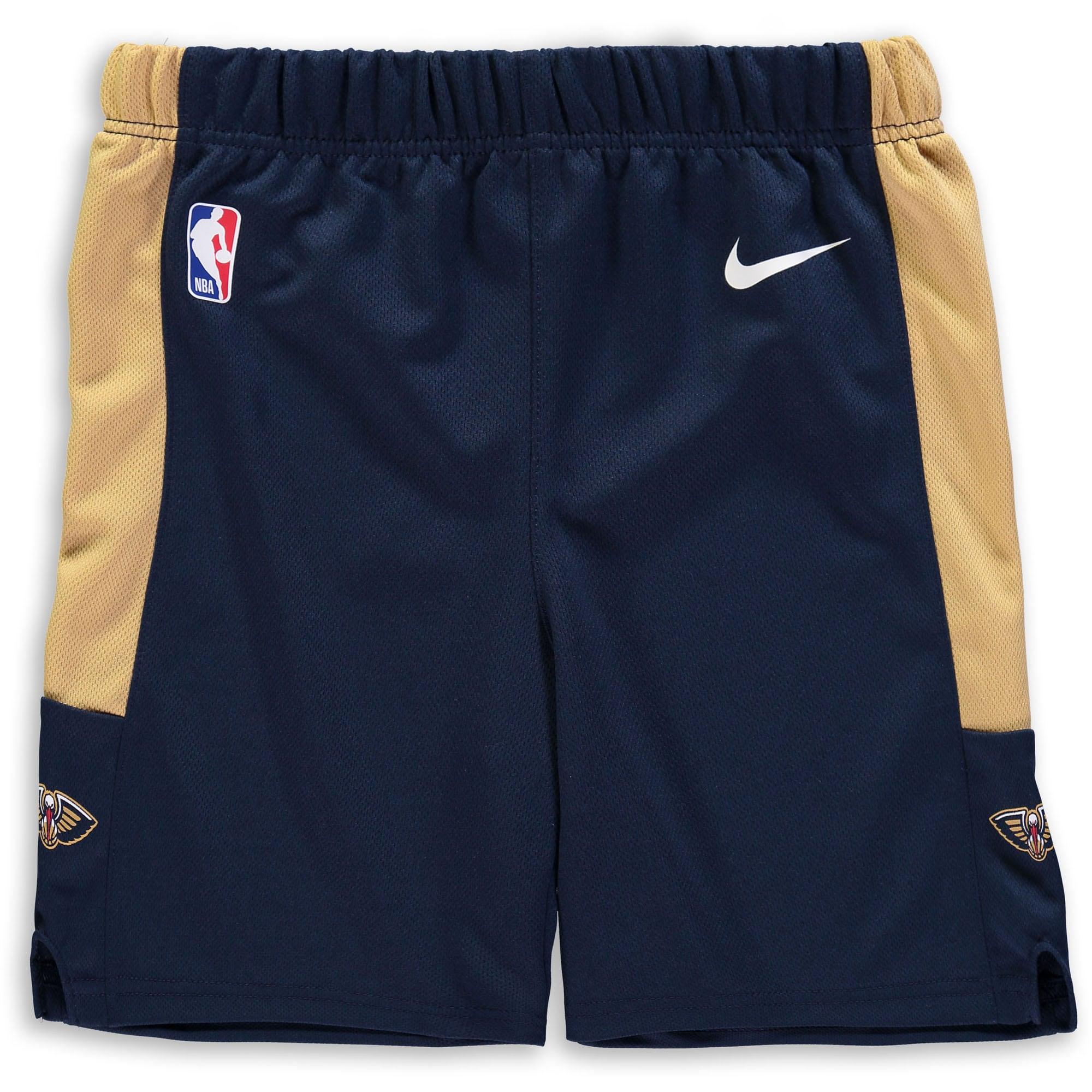 New Orleans Pelicans Nike Preschool Icon Replica Team Shorts - Navy