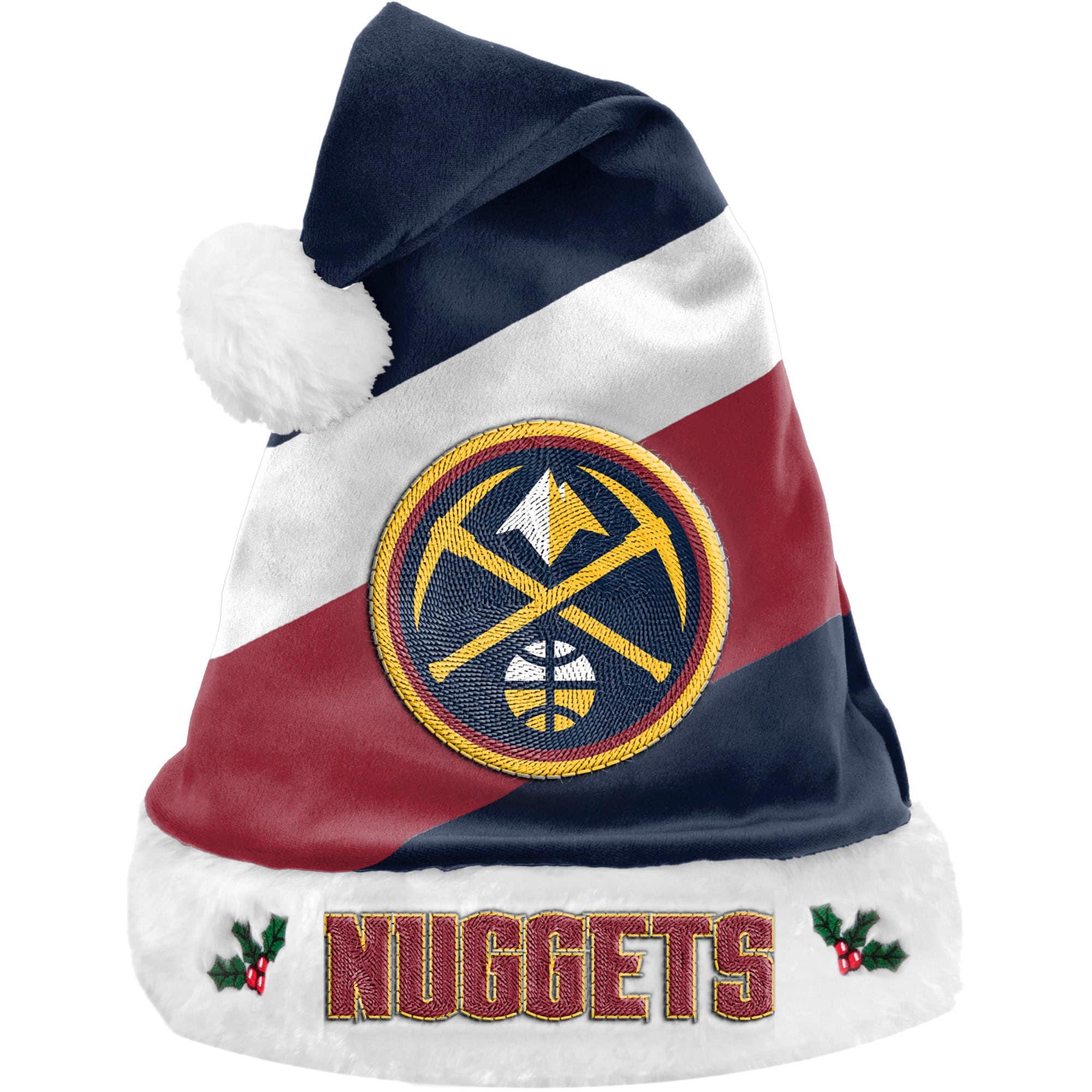 Denver Nuggets Team Santa Hat
