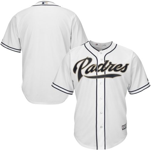 San Diego Padres Majestic Big & Tall Cool Base Team Jersey - White