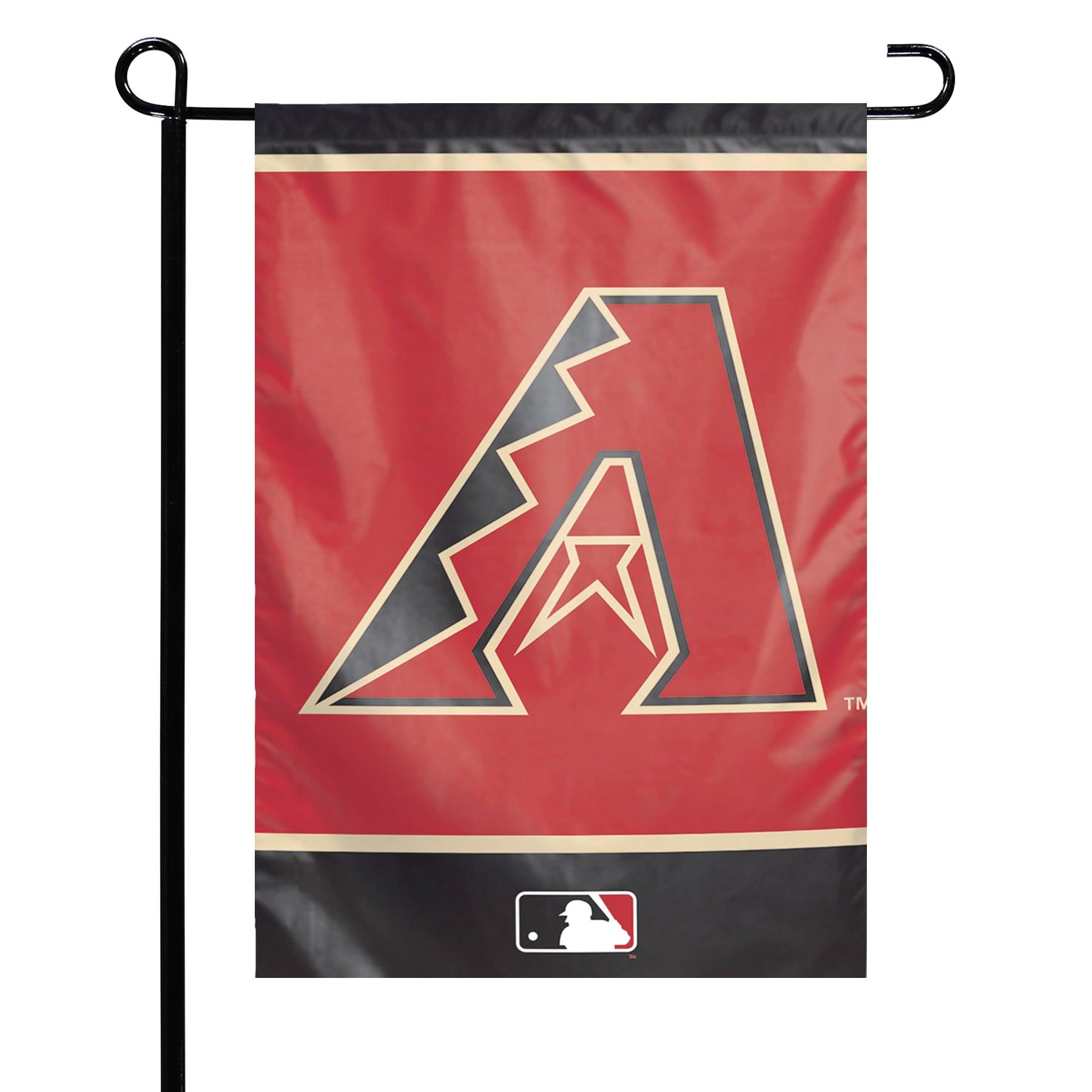 "Arizona Diamondbacks WinCraft 12"" x 18"" Double-Sided Garden Flag"