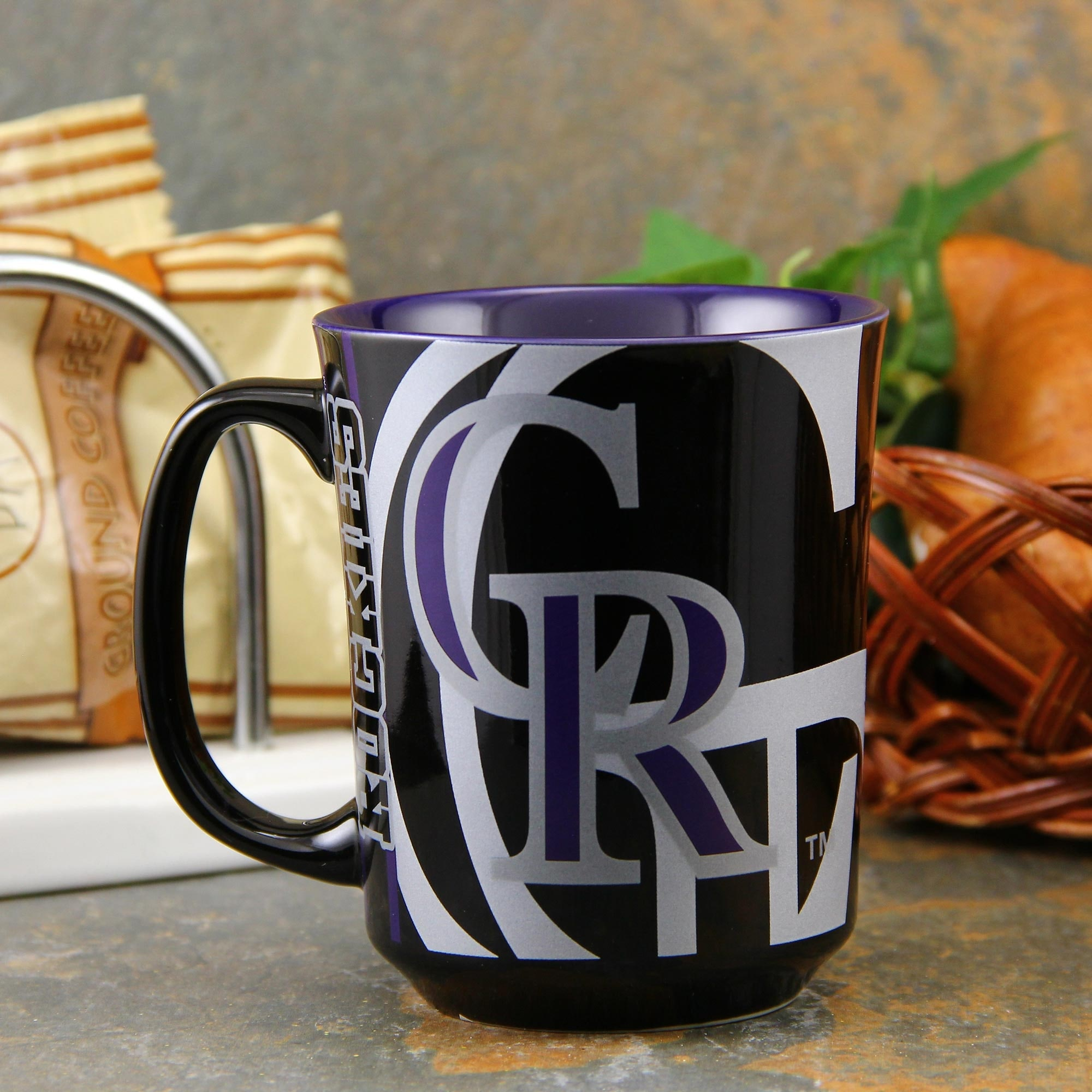 Colorado Rockies Reflective Mug