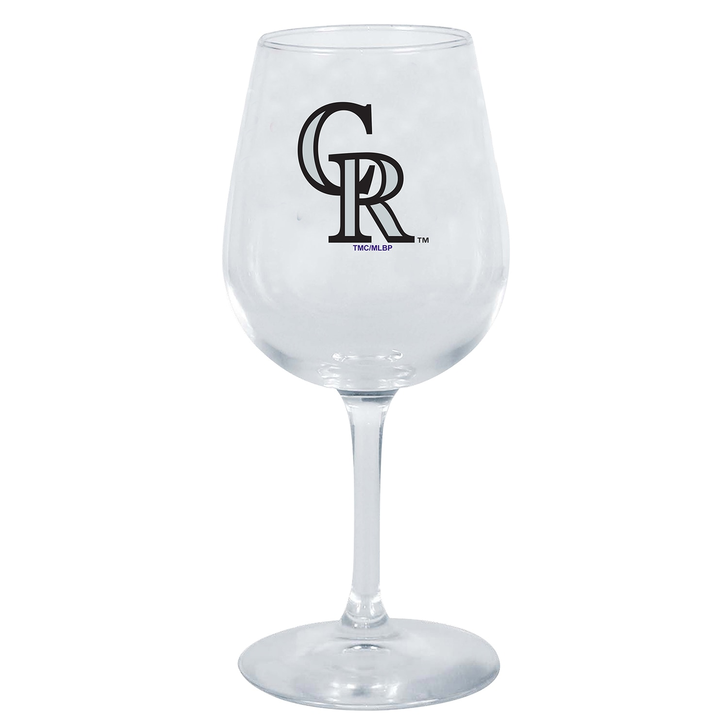 Colorado Rockies 12oz. Stemmed Wine Glass
